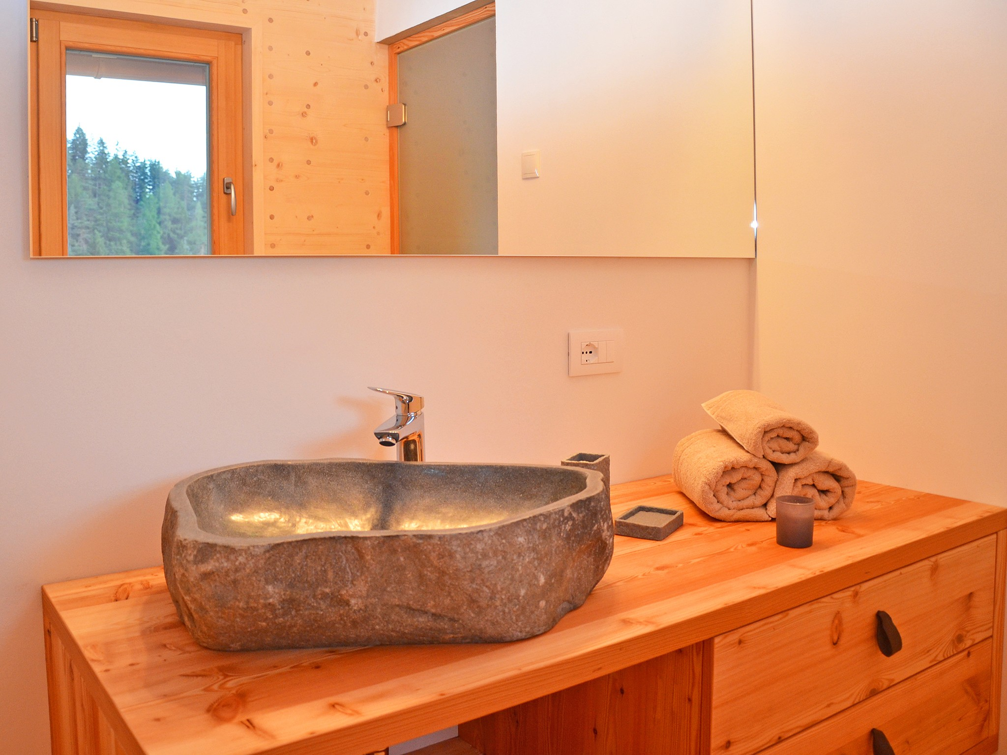 Dolomiti-Lodge - bathroom
