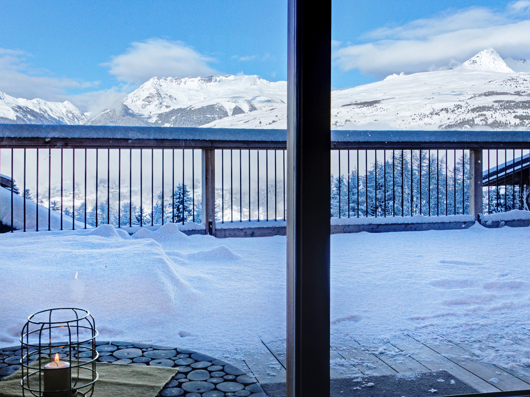 Chalet Ski Dream - panoramic view
