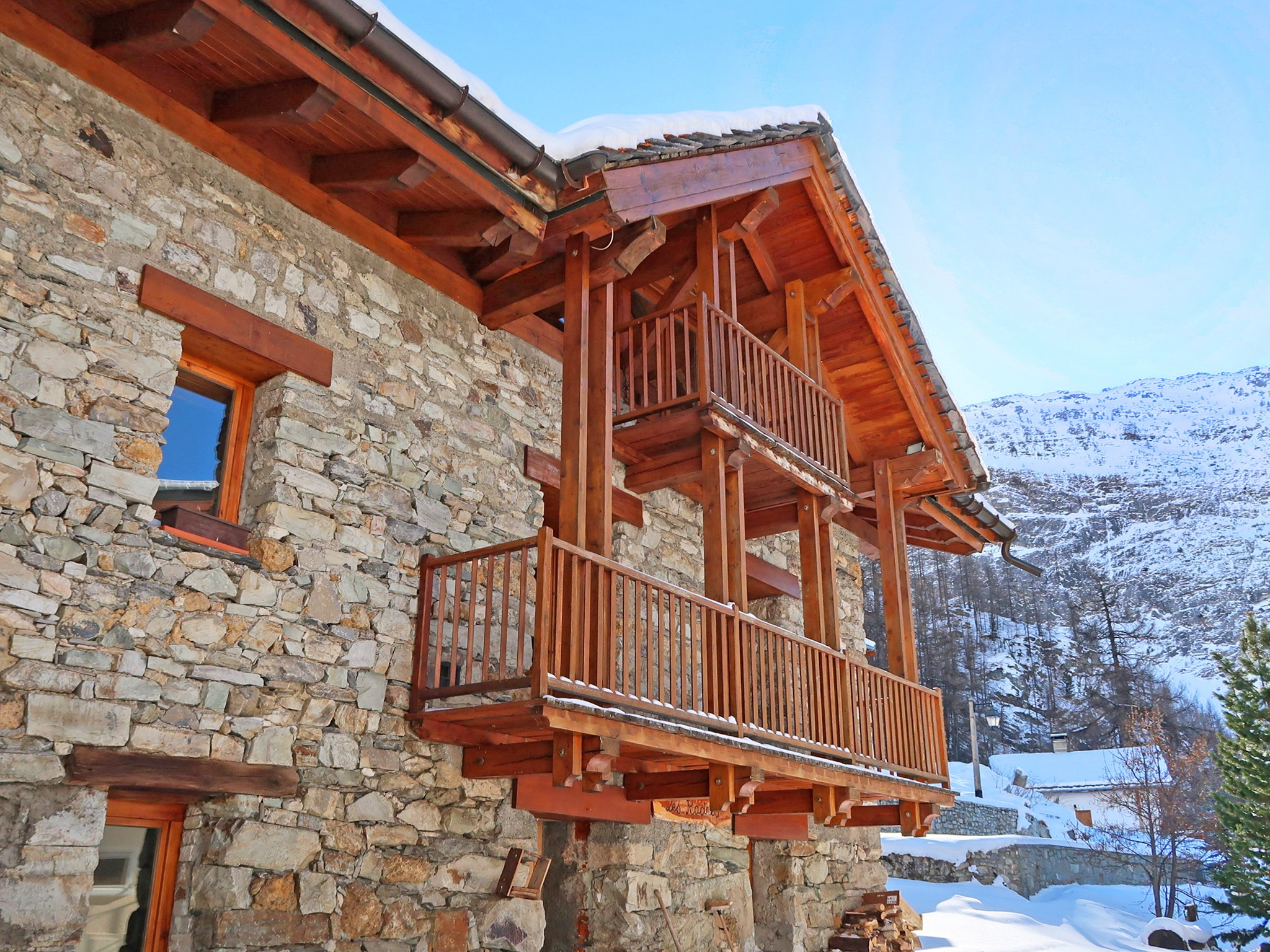 chalet val 10 pers in espace killy tignes val d is 232 re
