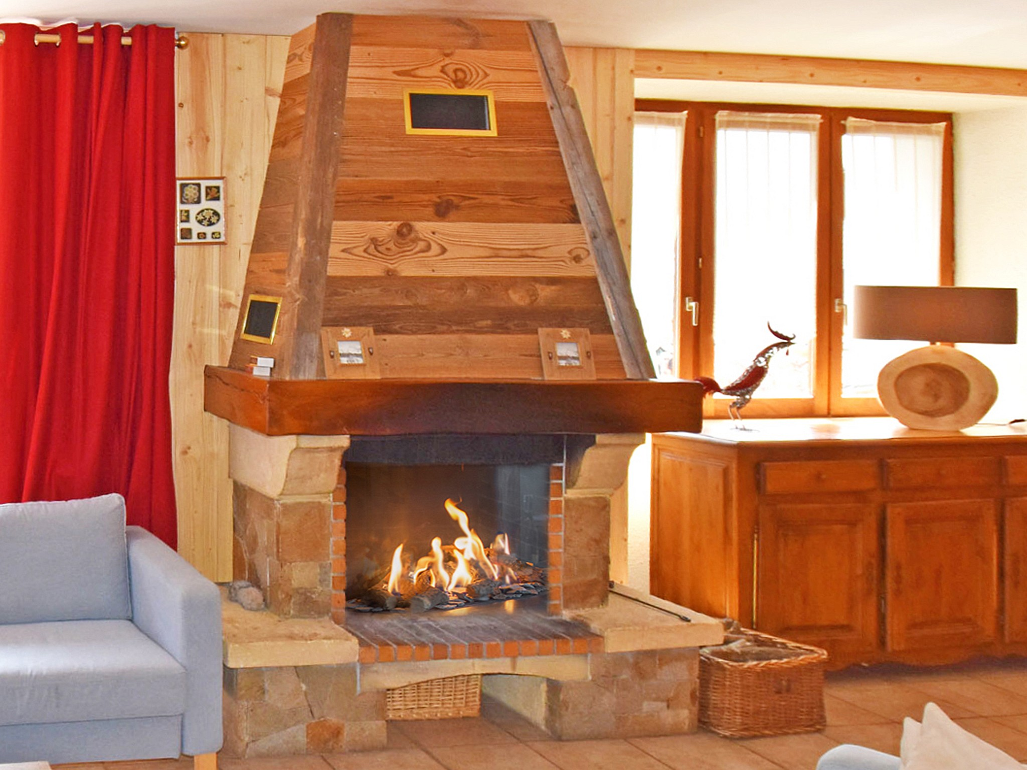 Chalet Louise - Kamin