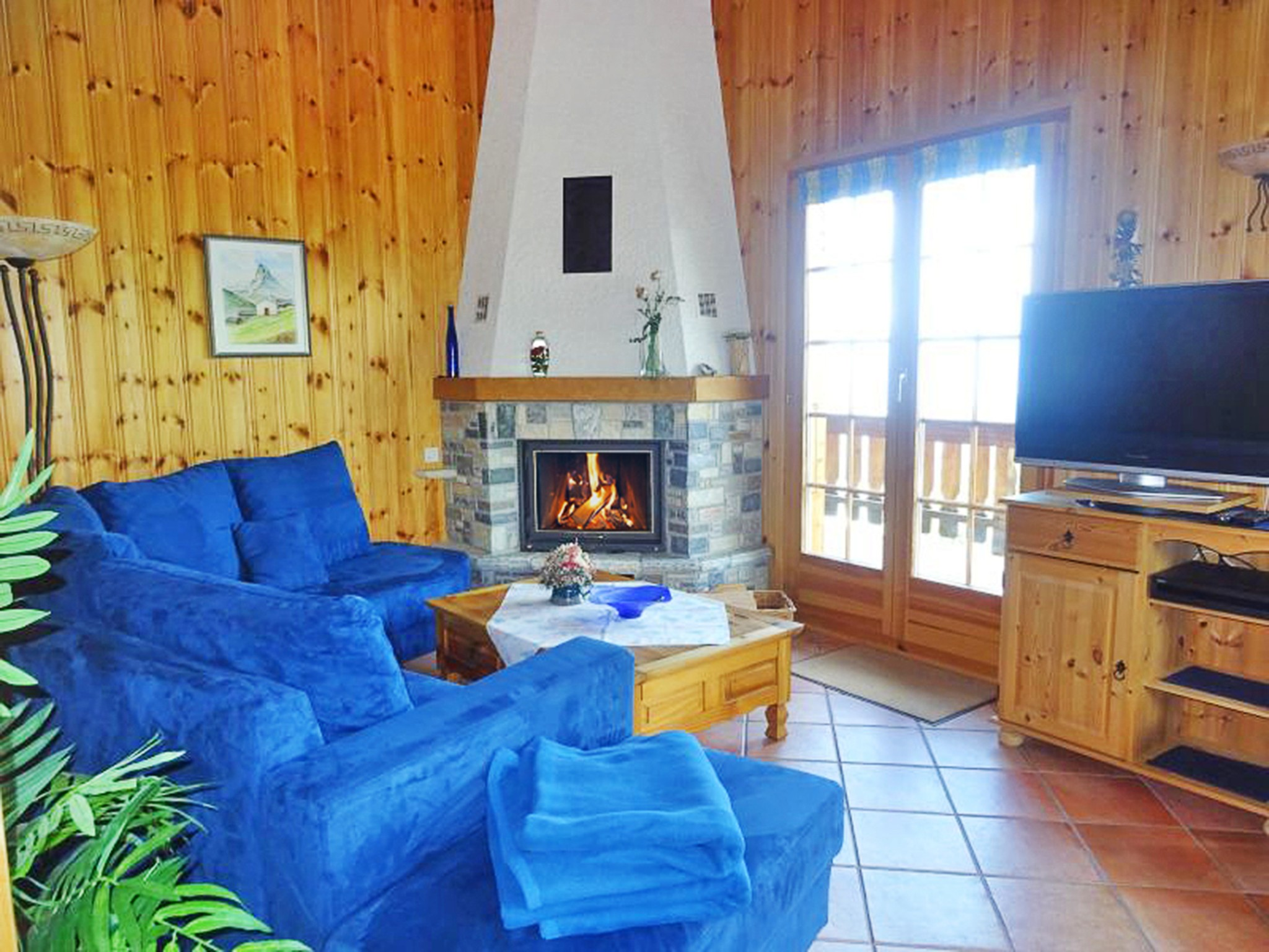 Chalet Albert - fireplace