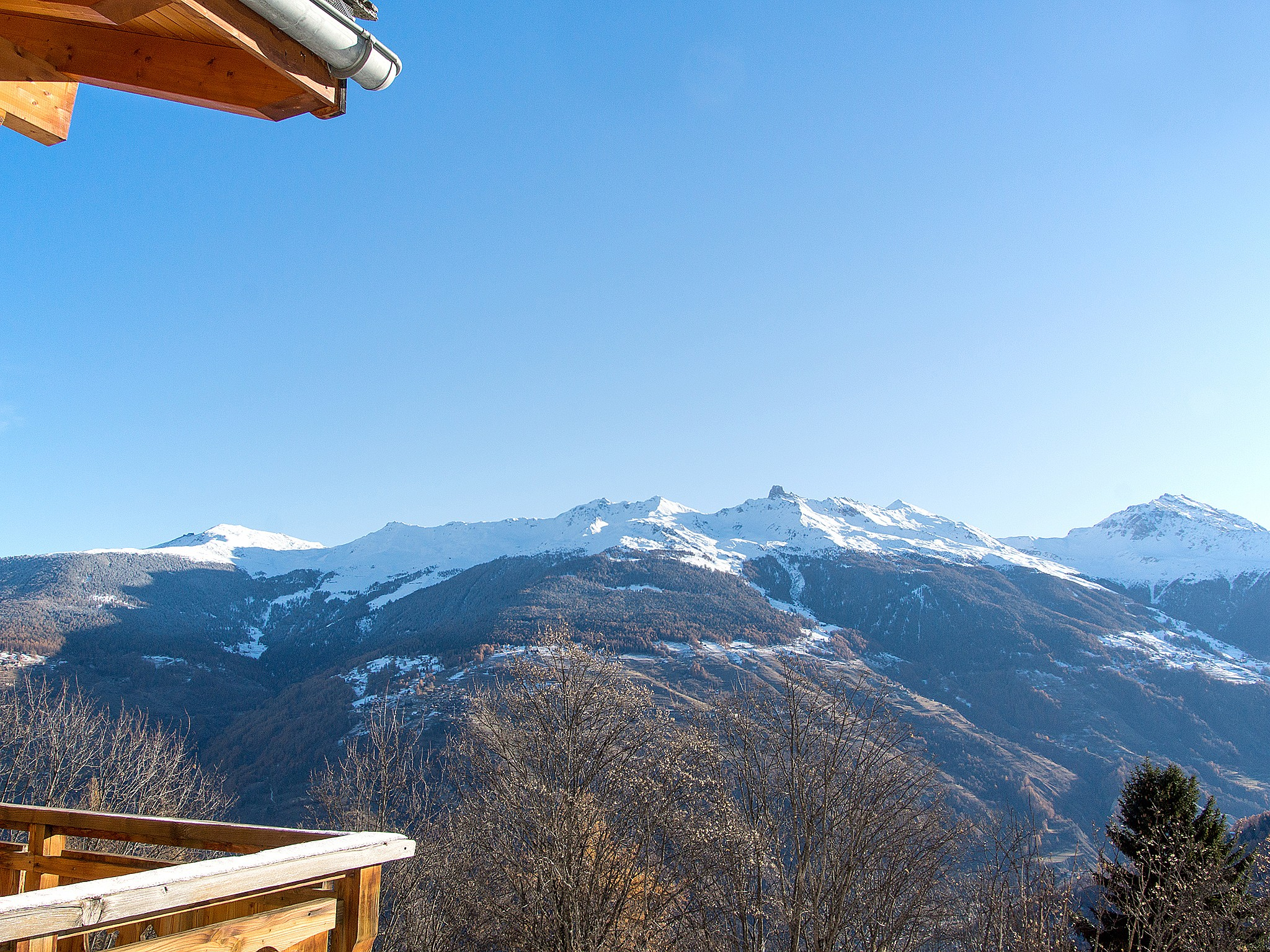 Chalet Greppon Blanc - panoramic view