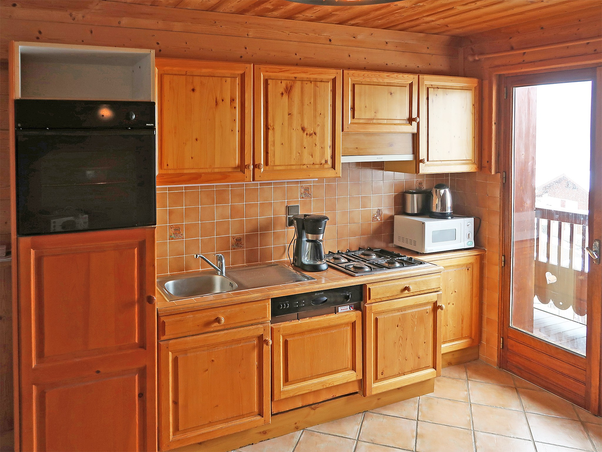 Chalet Crey - kitchen