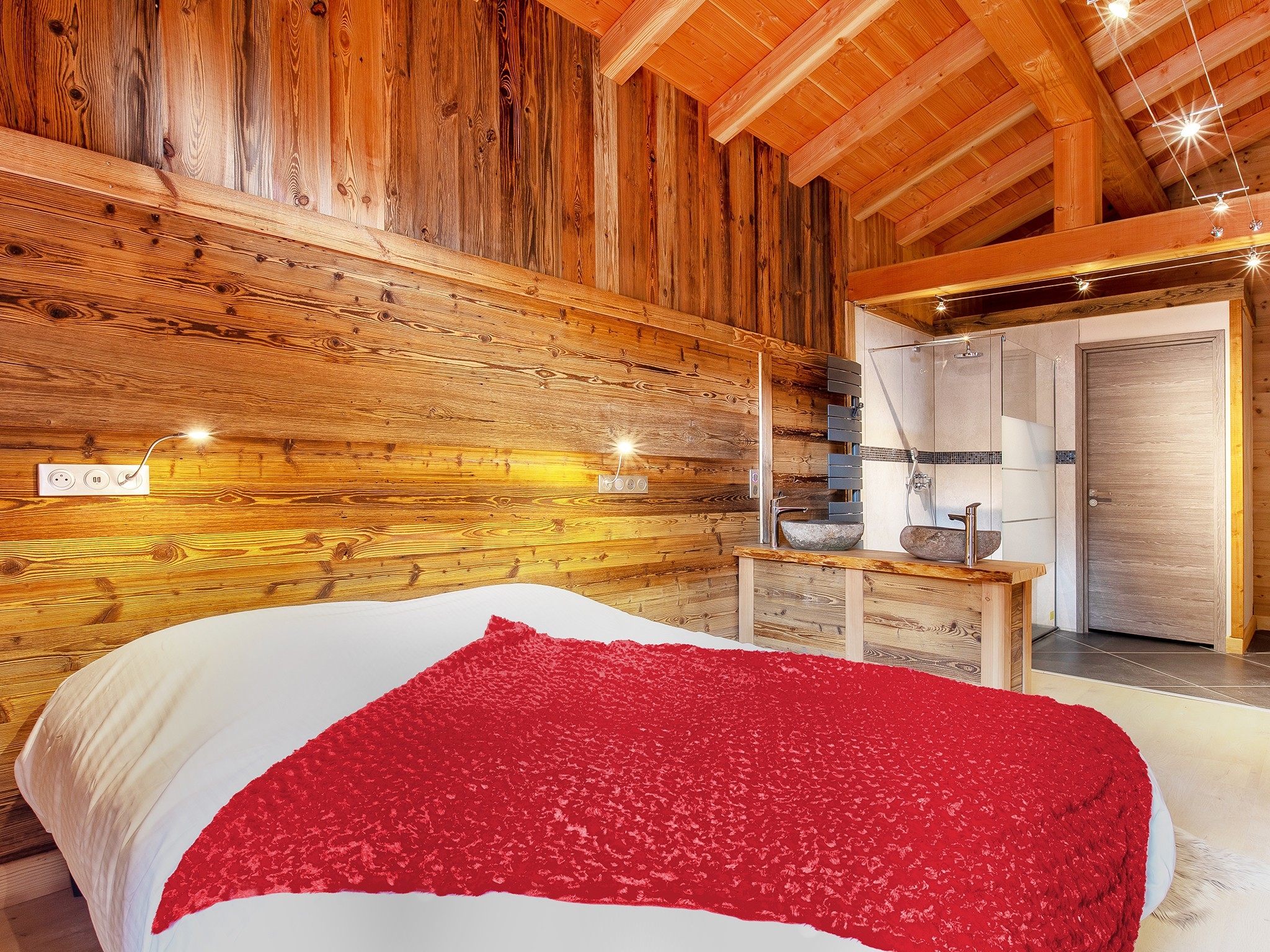 Chalet Paradise Pearl - chambre