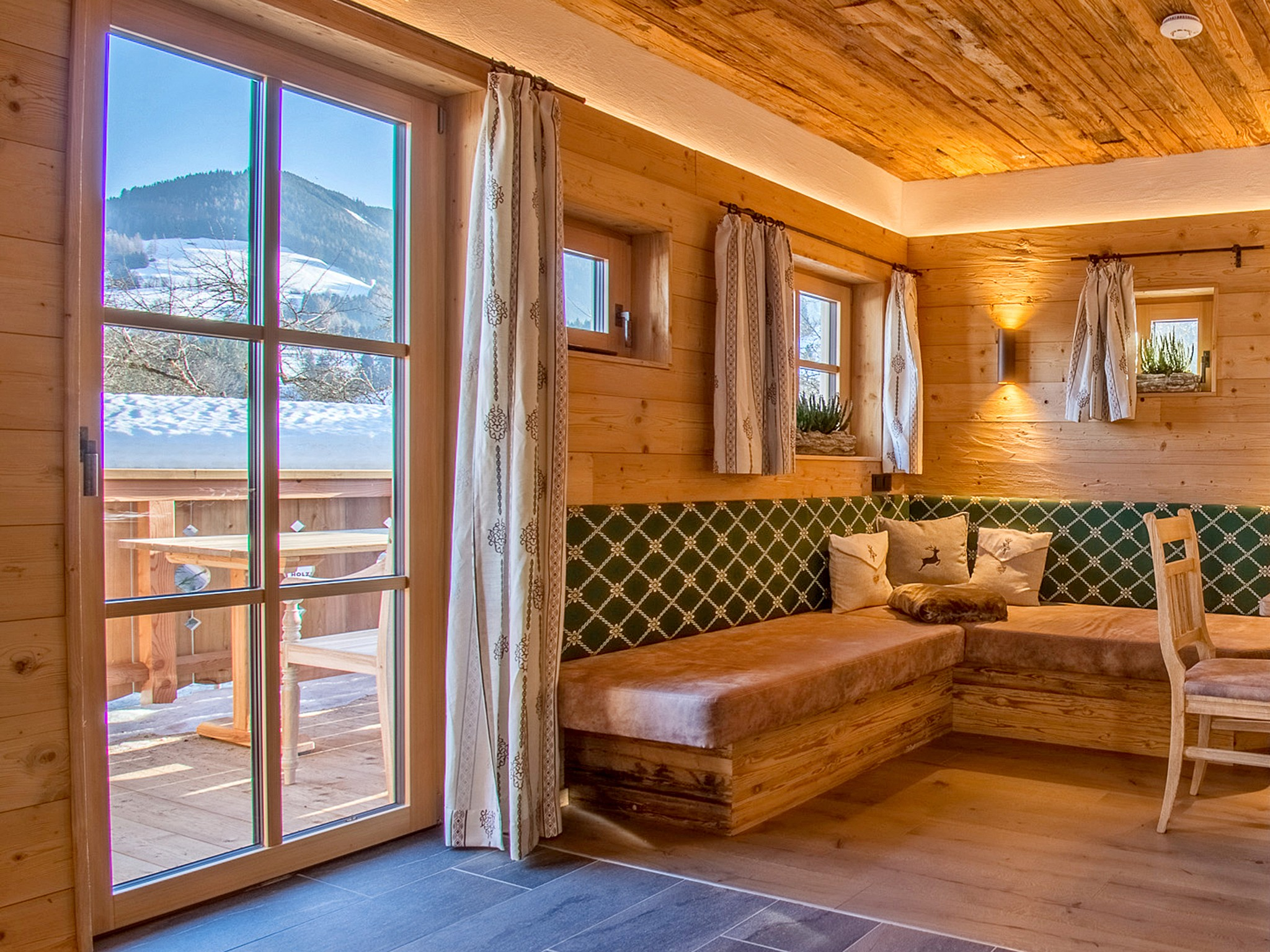Mountain Lodge Leogang - Wohnraum