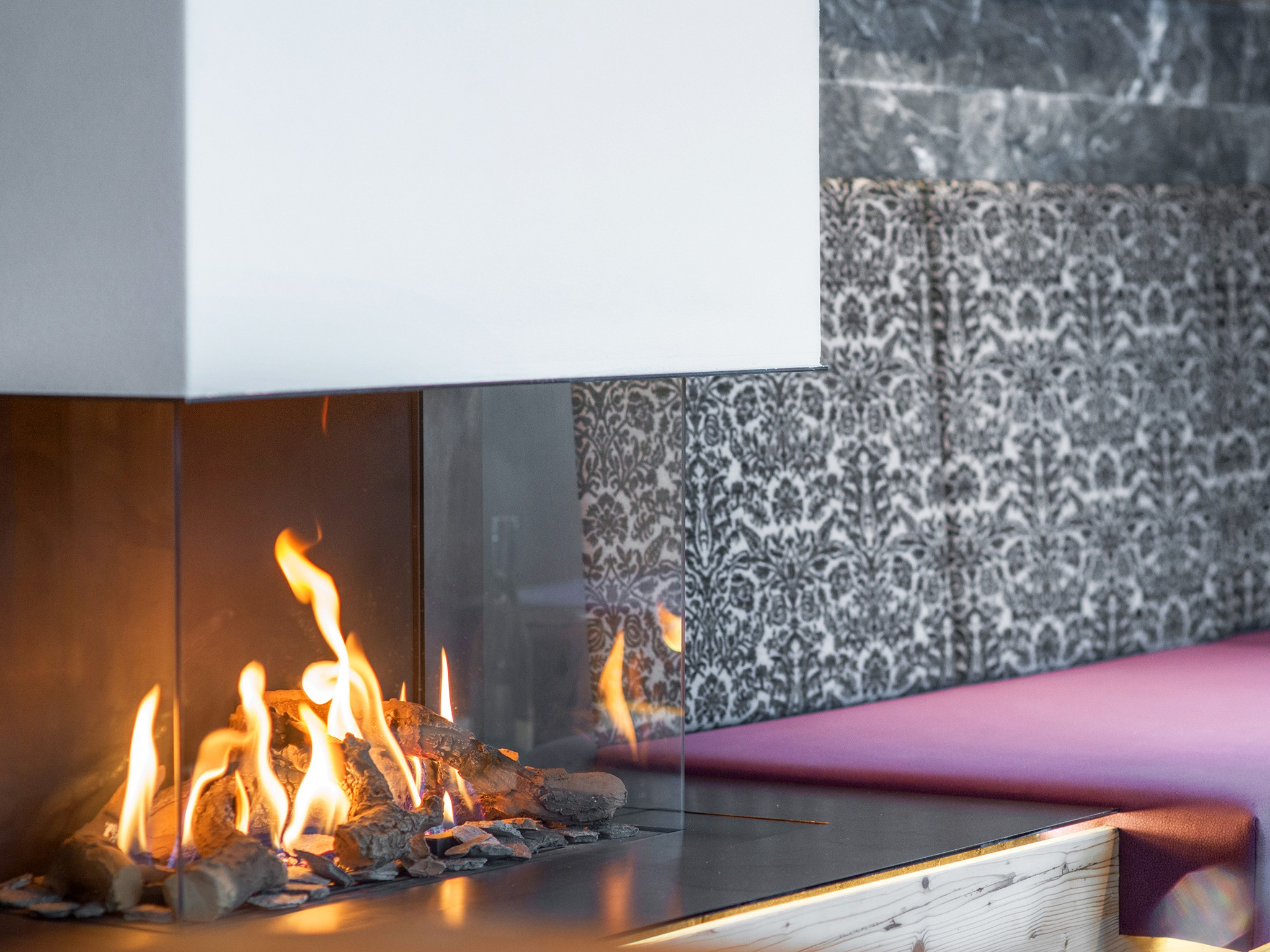 Zillertal Star Chalet - fireplace