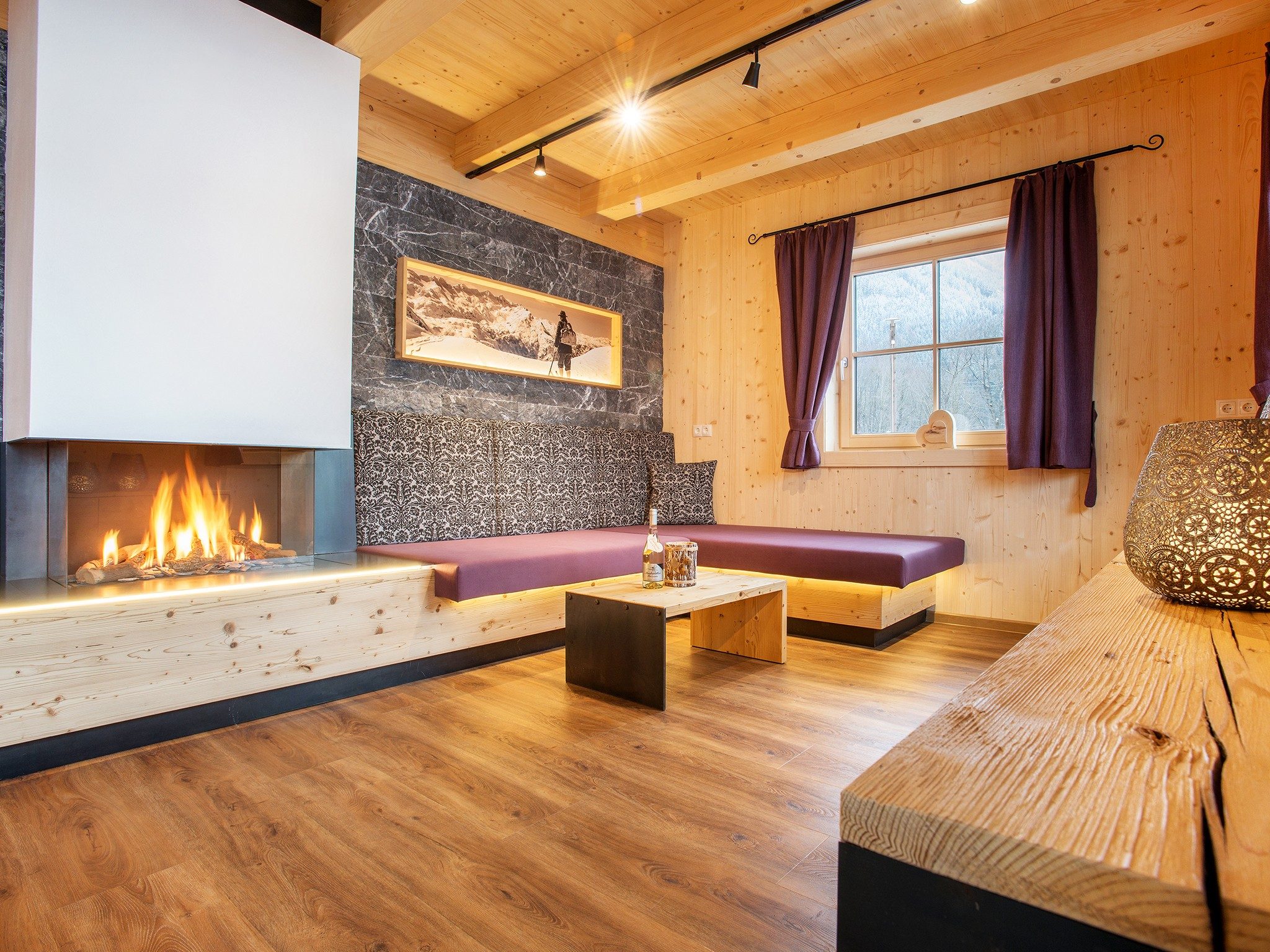 Zillertal Star Chalet - living room