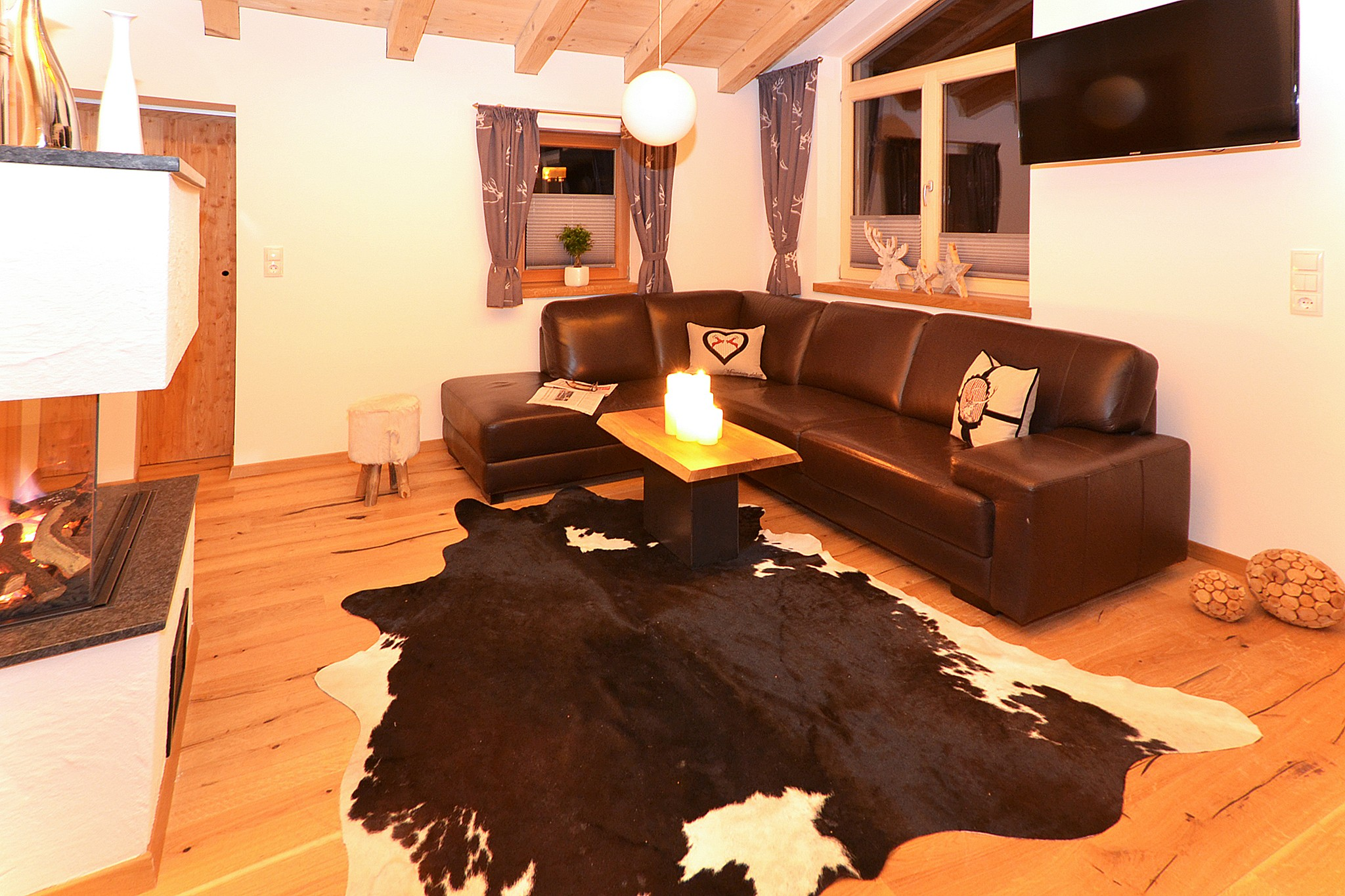 Chalet Zillertal Pearl - living room