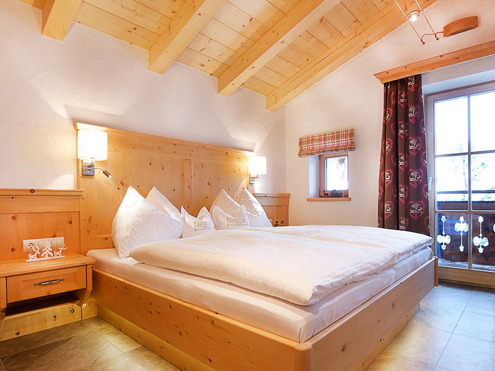Panorama Hütte Saalbach - bedroom