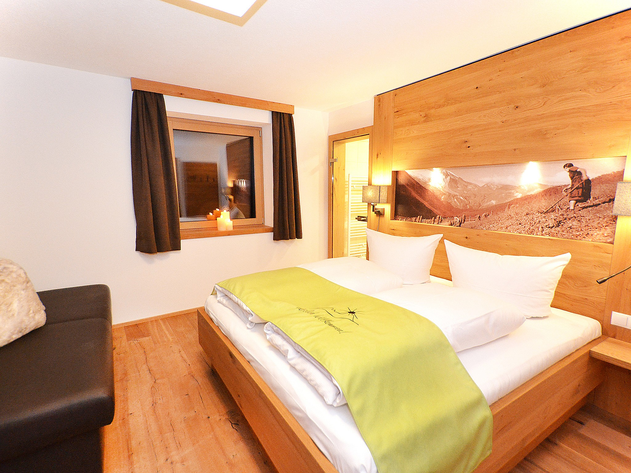 Spa Lodge Zillertal - chambre