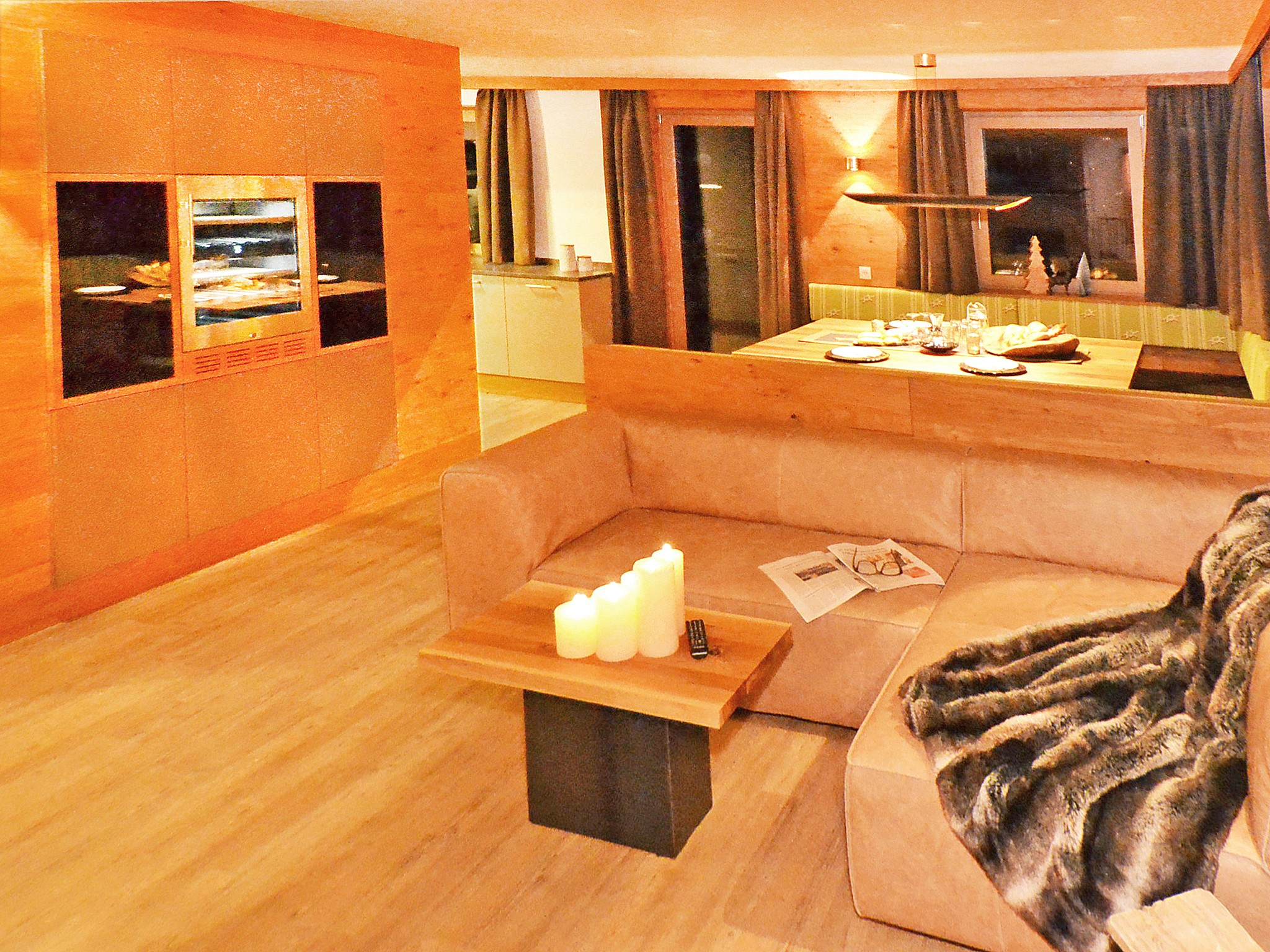 Spa Lodge Zillertal - living room