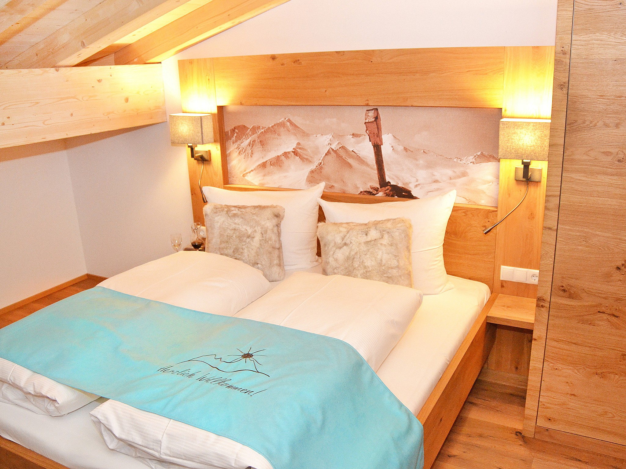 Spa Lodge Zillertal 2 - chambre