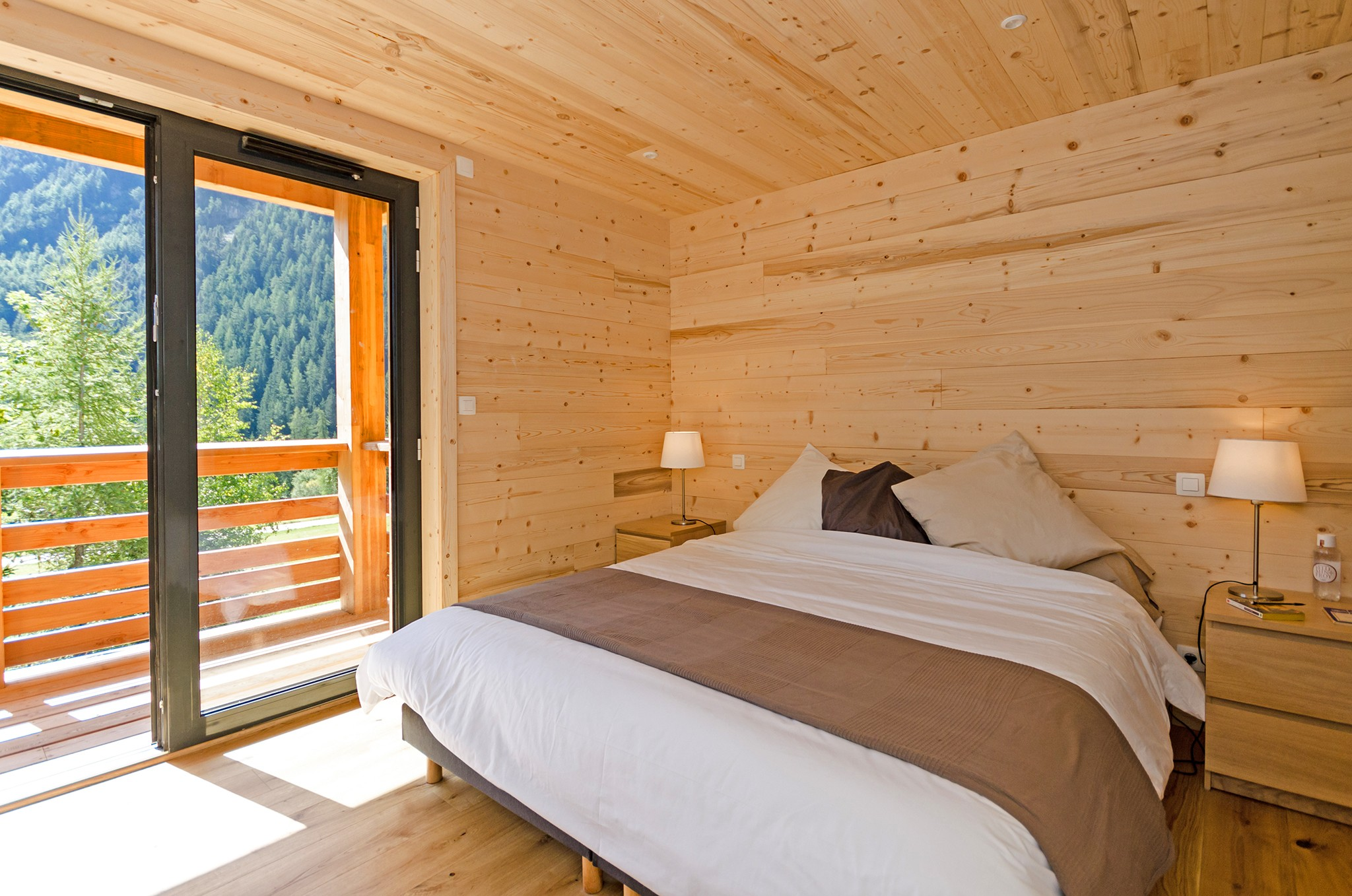 Chalet Olympe - bedroom