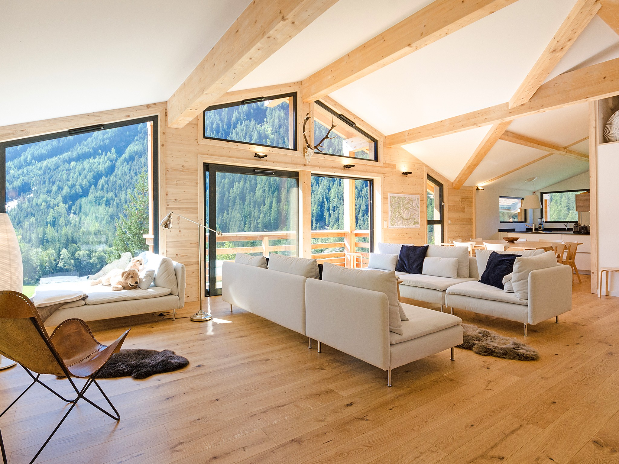 Chalet Olympe - living room