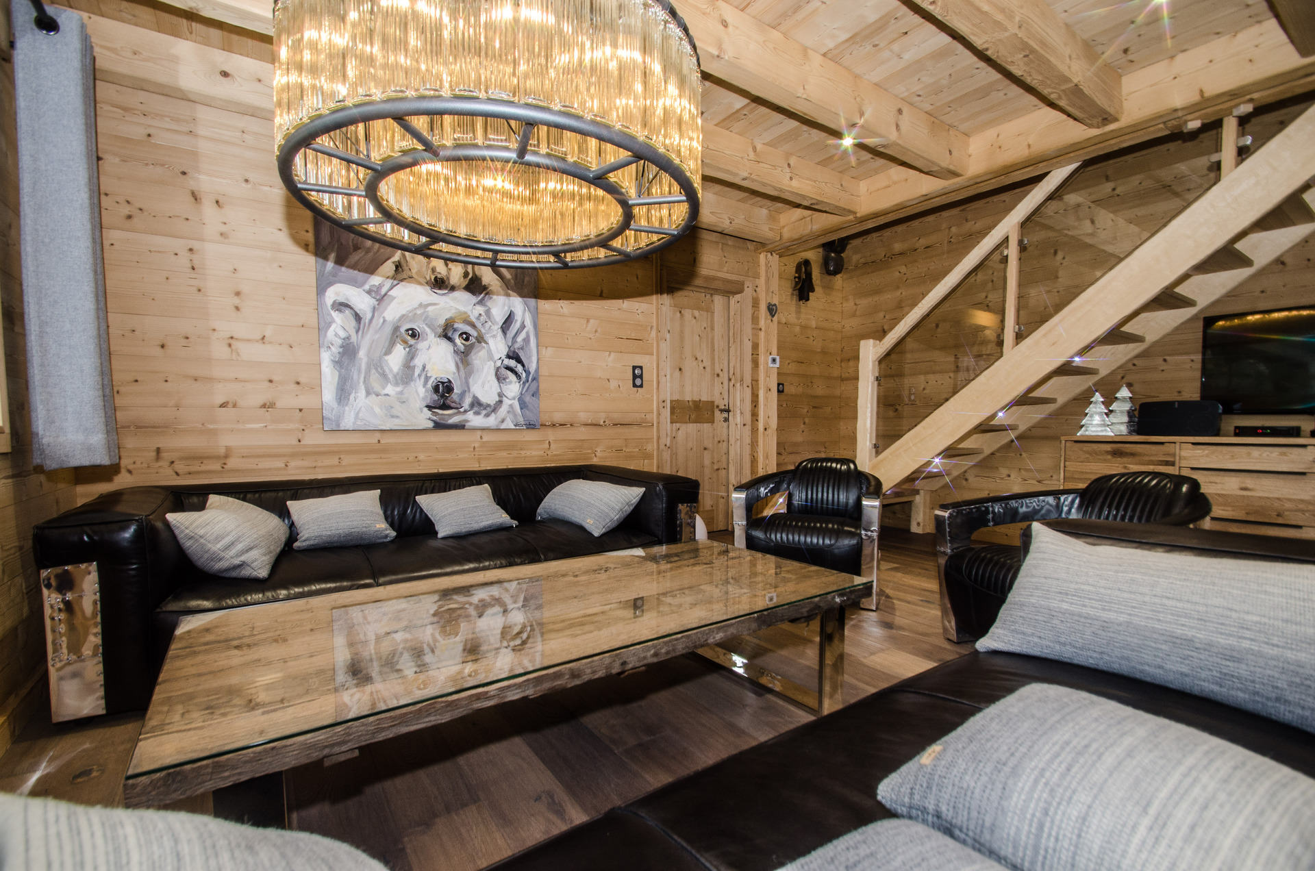 Chalet Marius - living room