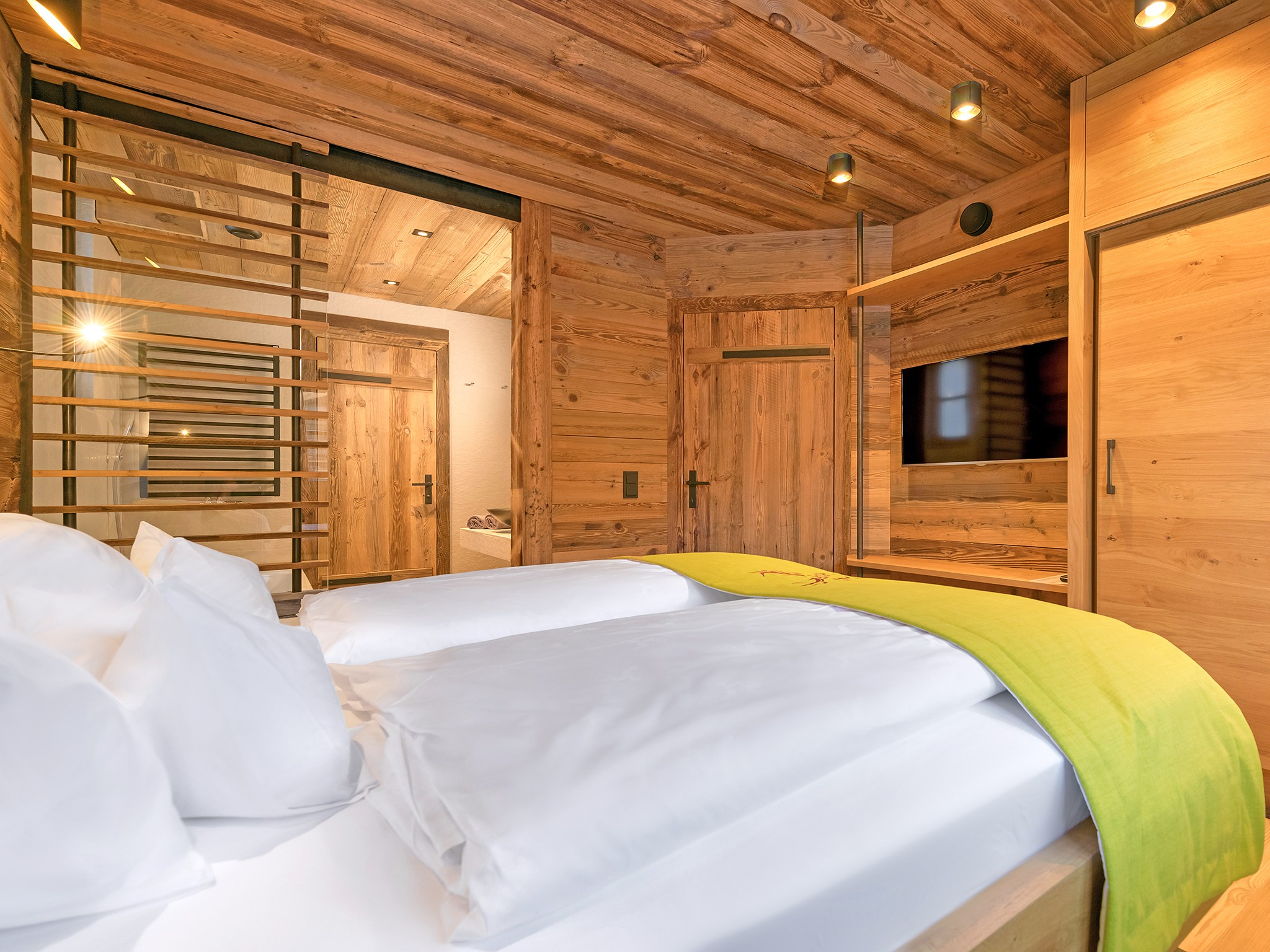 Unique Chalet Flachau - bedroom