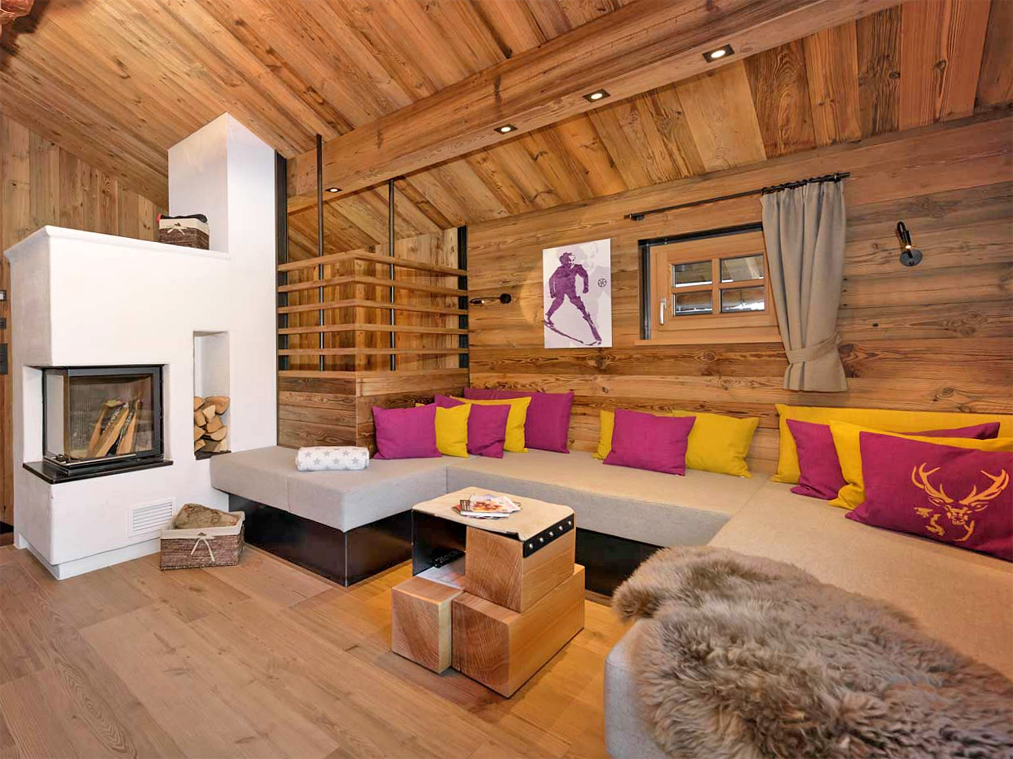 Noble Chalet Flachau - living room