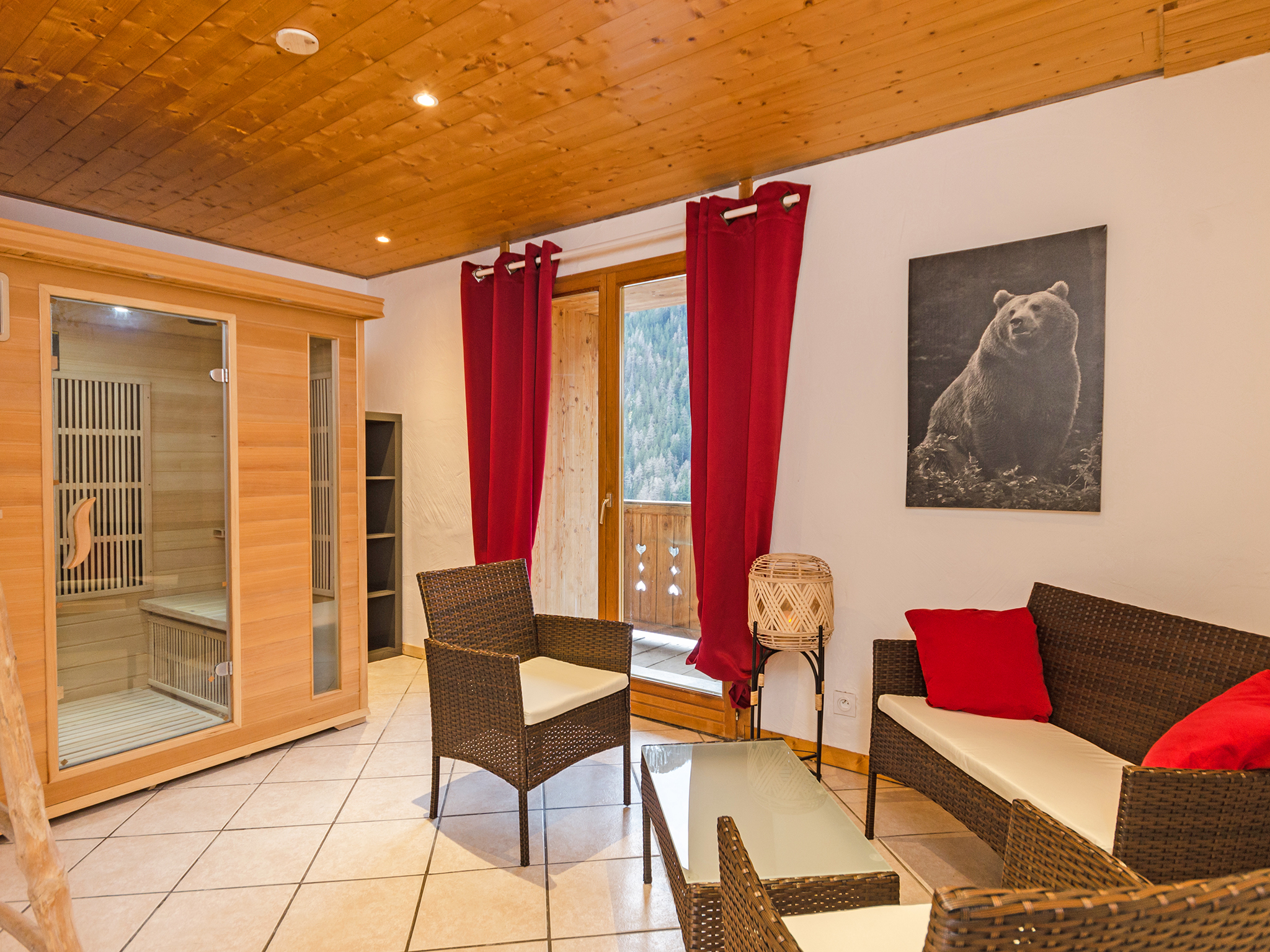Chalet Ulysse - spa area