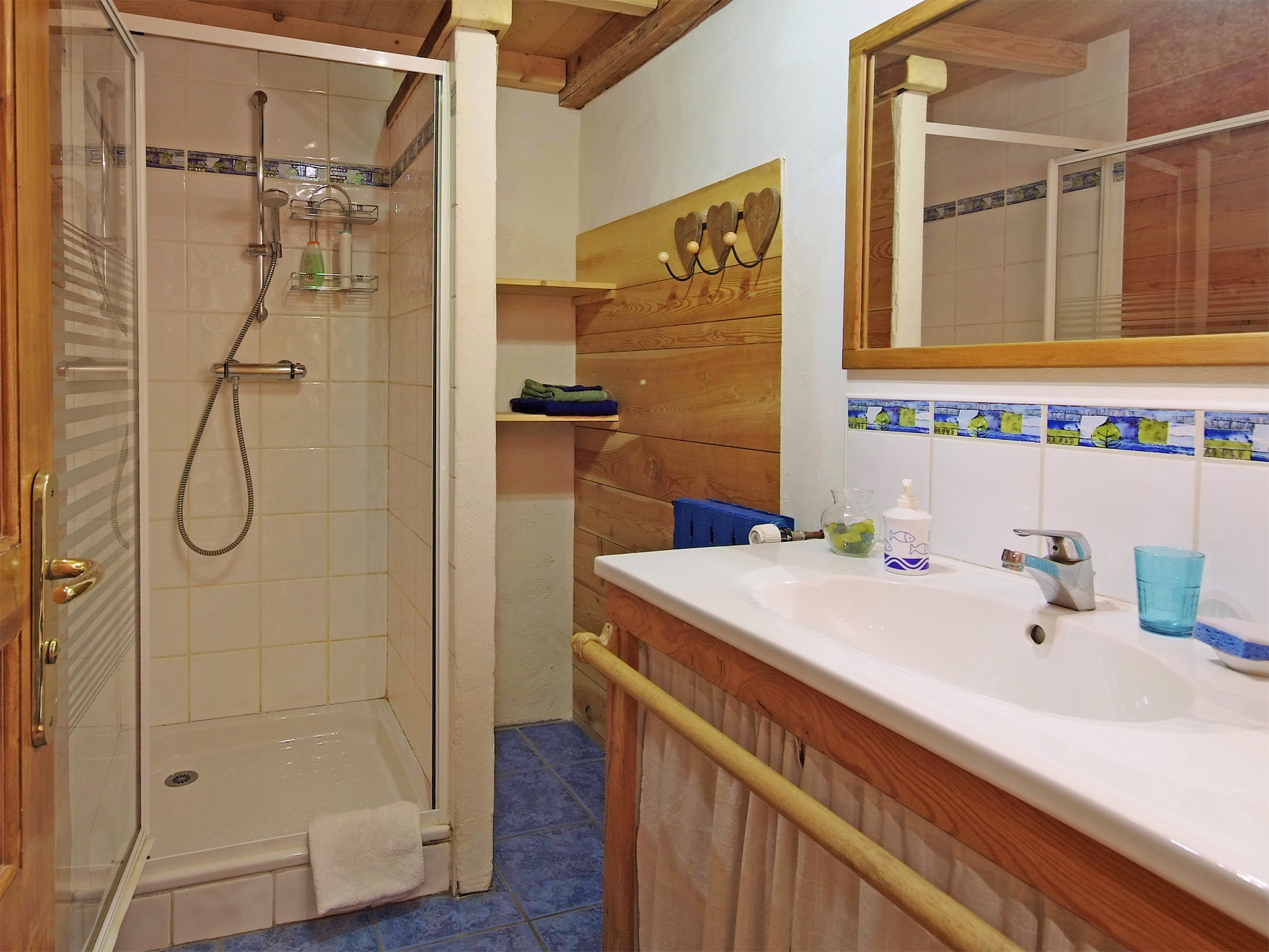 Chalet de Claude - bathroom