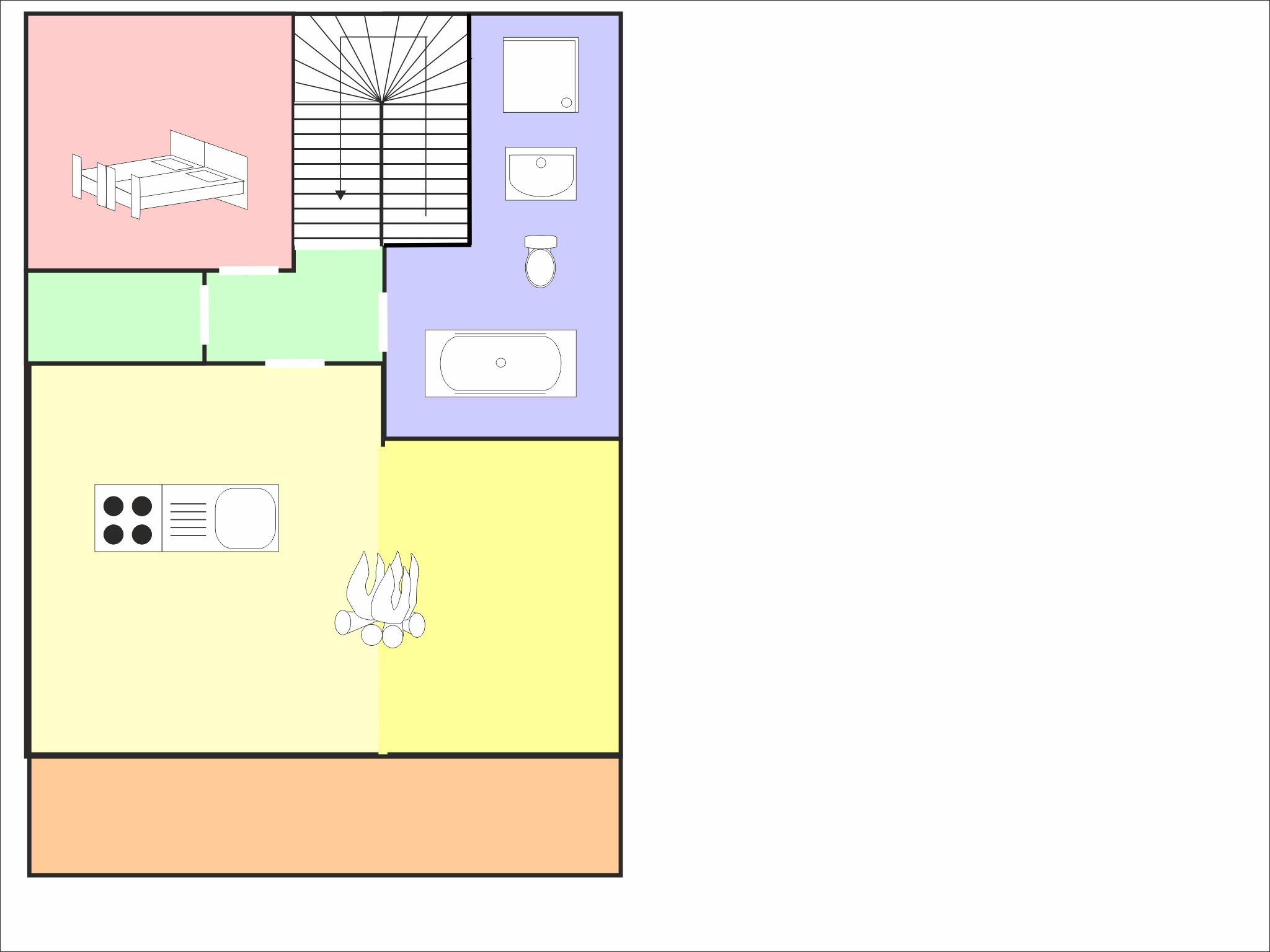 Sonnenchalet Leutasch - floor plan - level 2