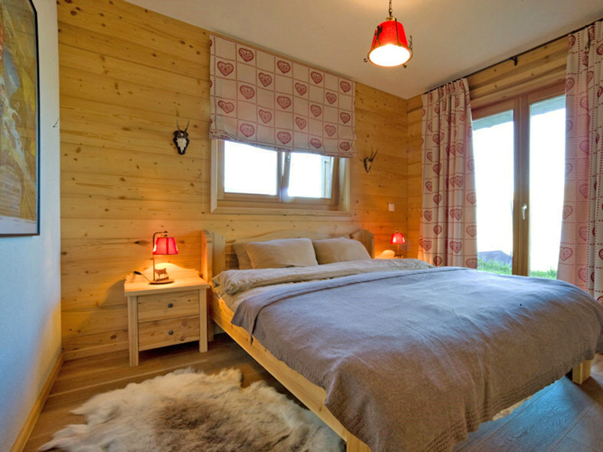 Chalet Sky - chambre