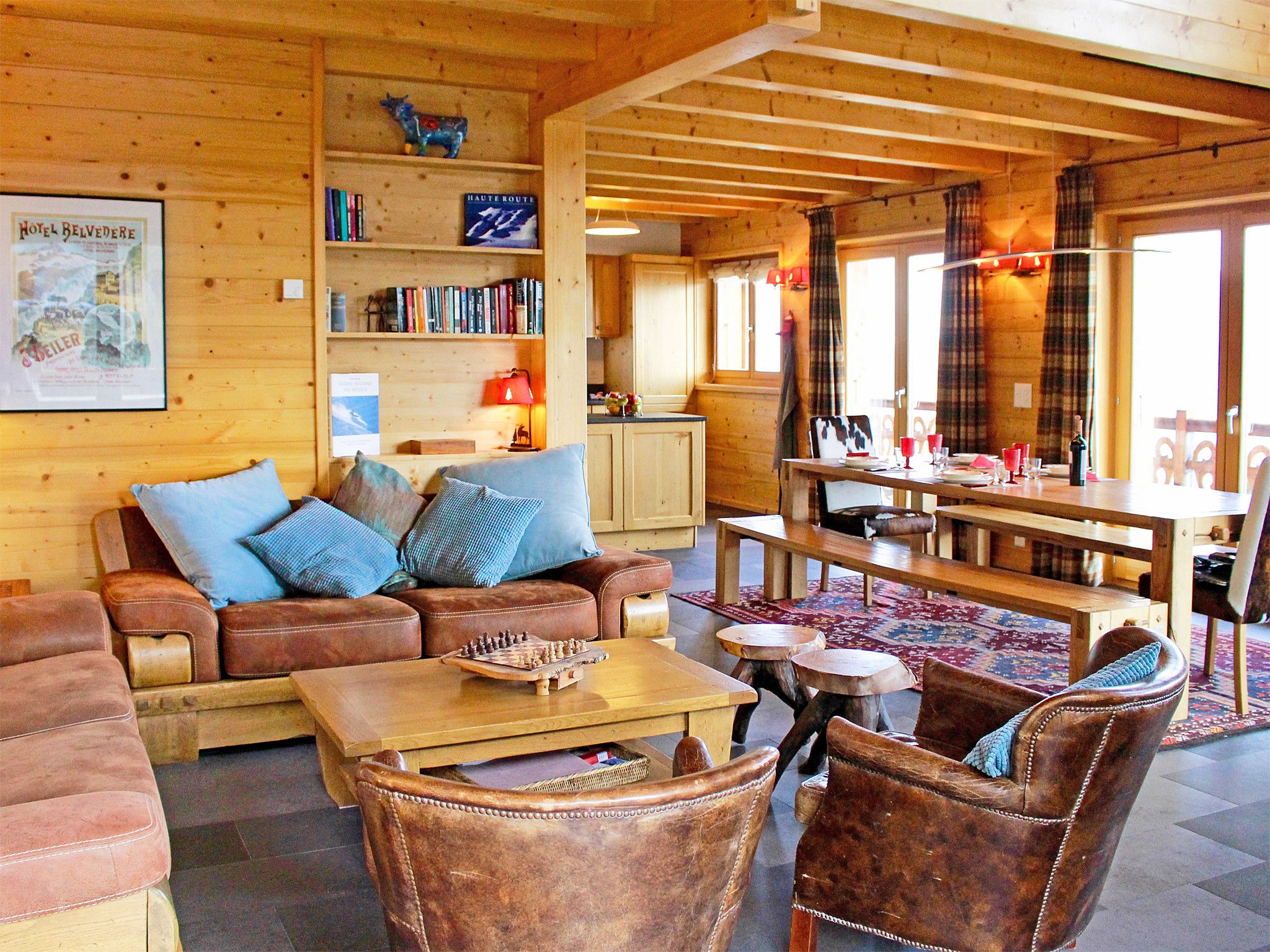 Chalet Sky - coin repas