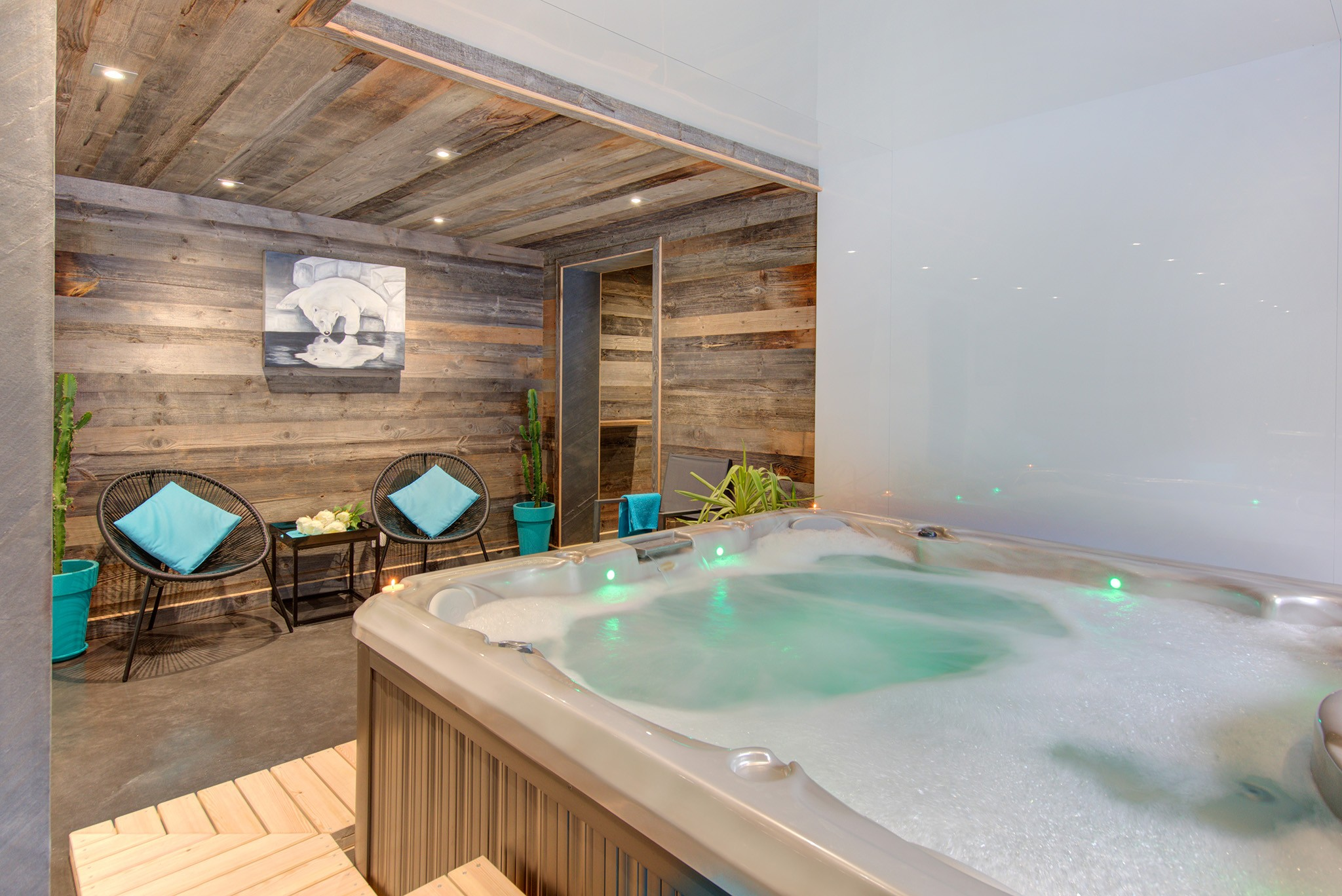 Chalet Champagny Mountain Lodge 6P - jacuzzi