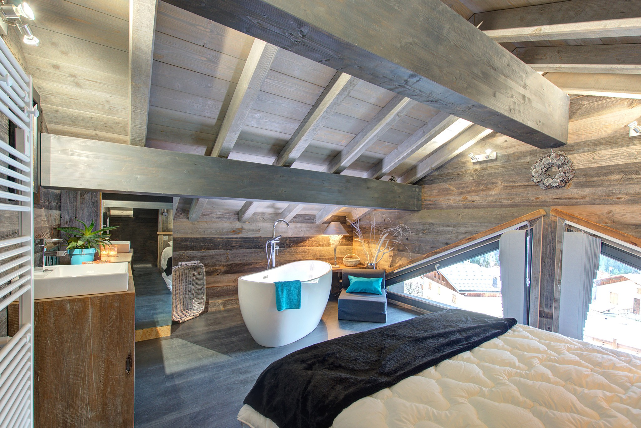 Chalet Champagny Mountain Lodge 12P - Badezimmer