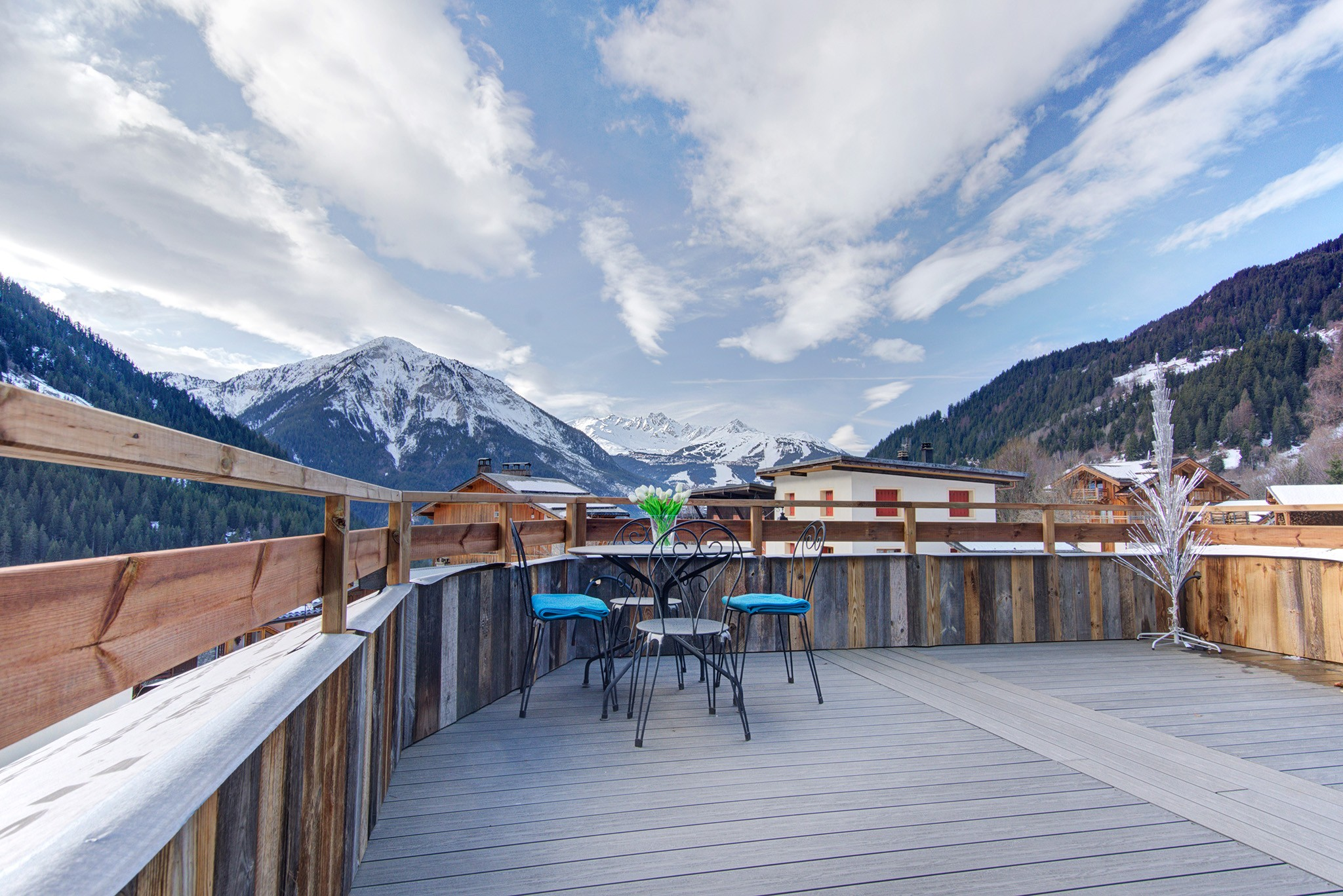 Chalet Champagny Mountain Lodge 12P - Terrasse