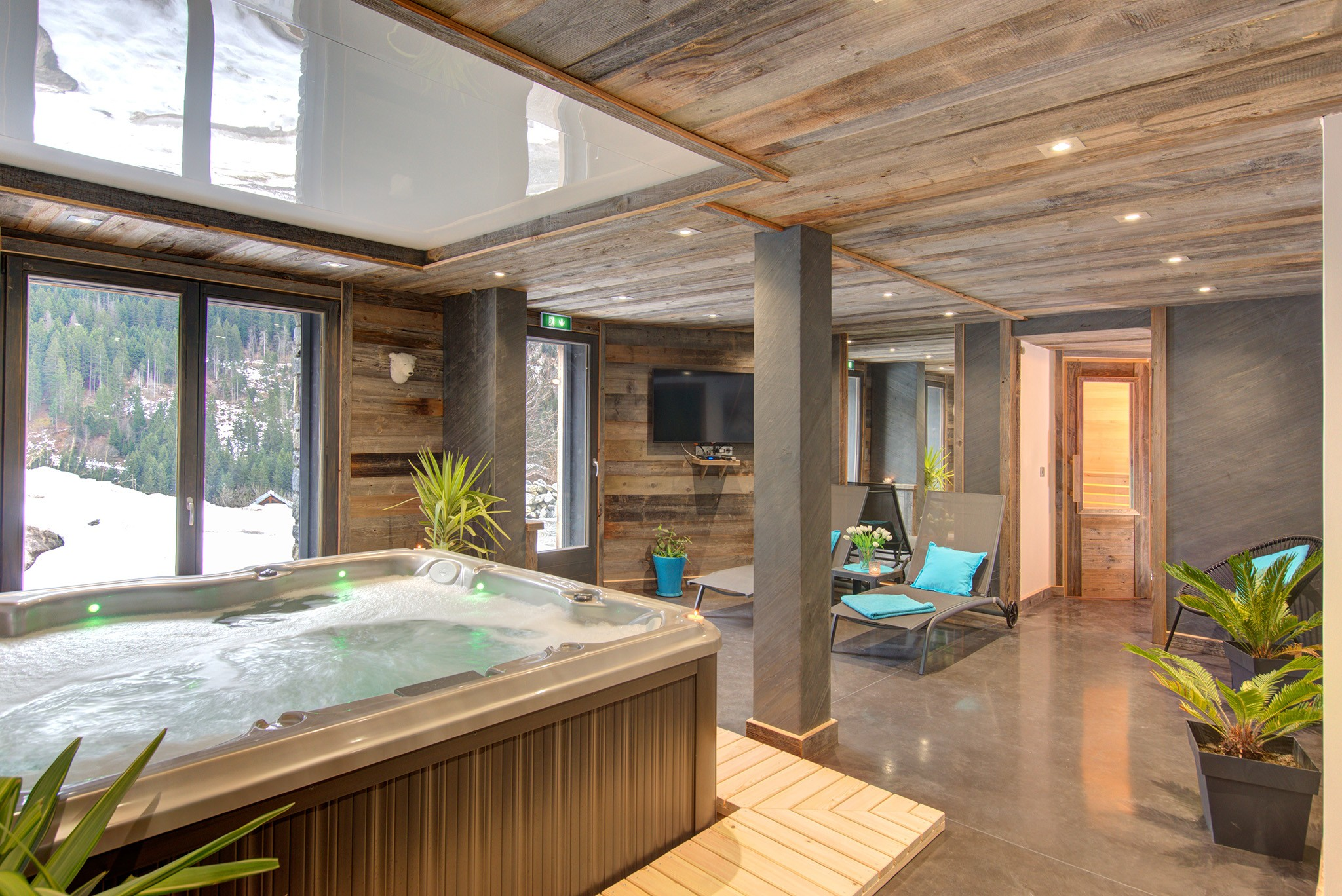 Chalet Champagny Mountain Lodge 12P - Wellnessbere