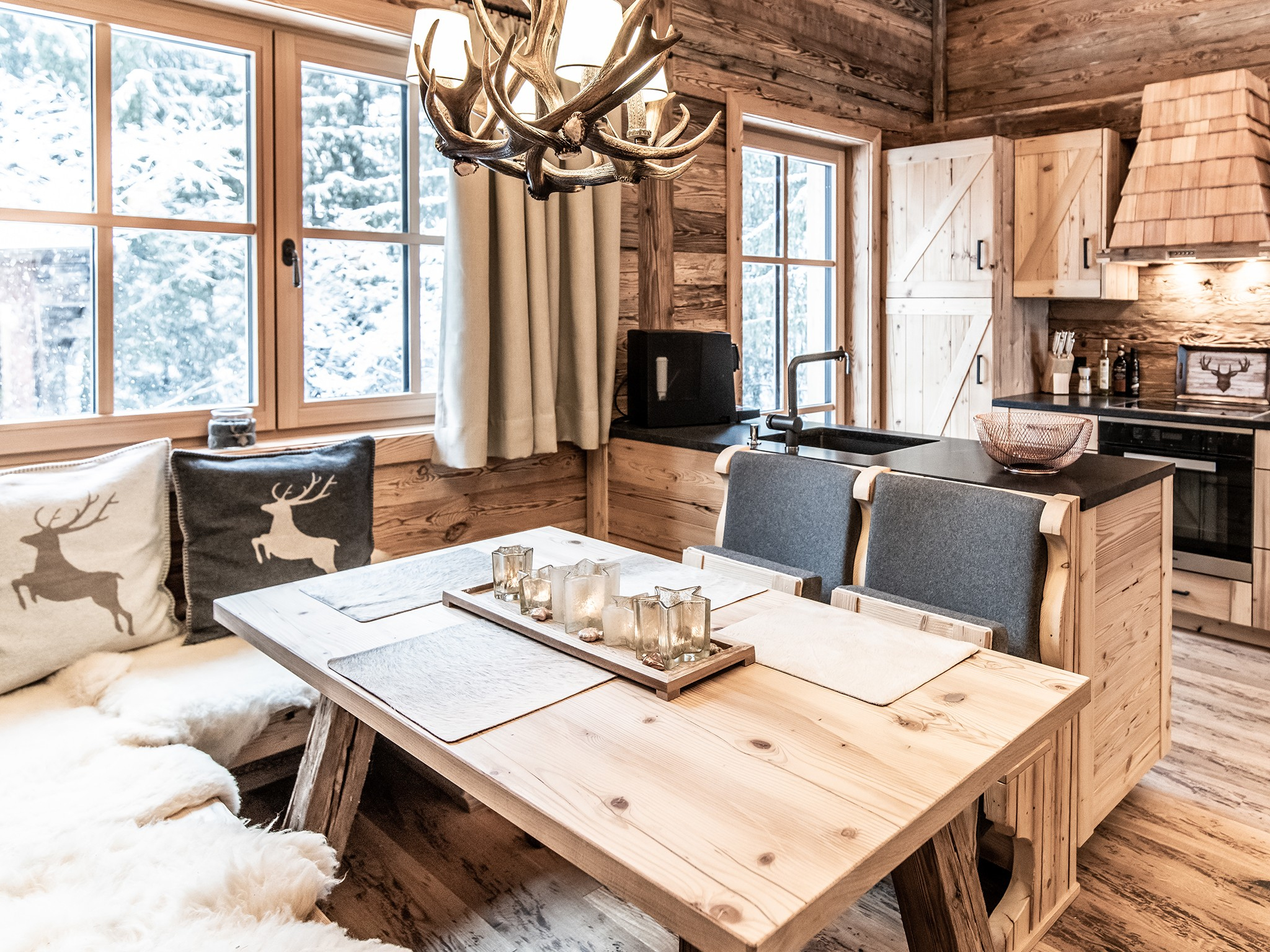 Lech-Chalet Stein - dining area