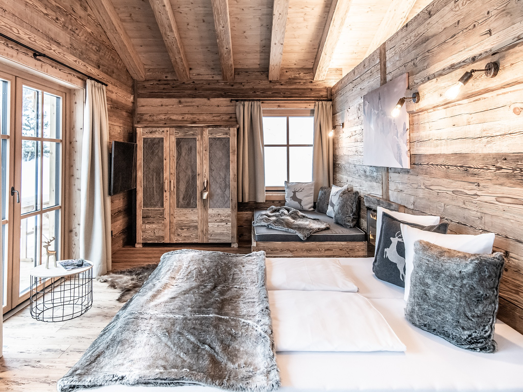 Lech-Chalet Stein - sleeping area