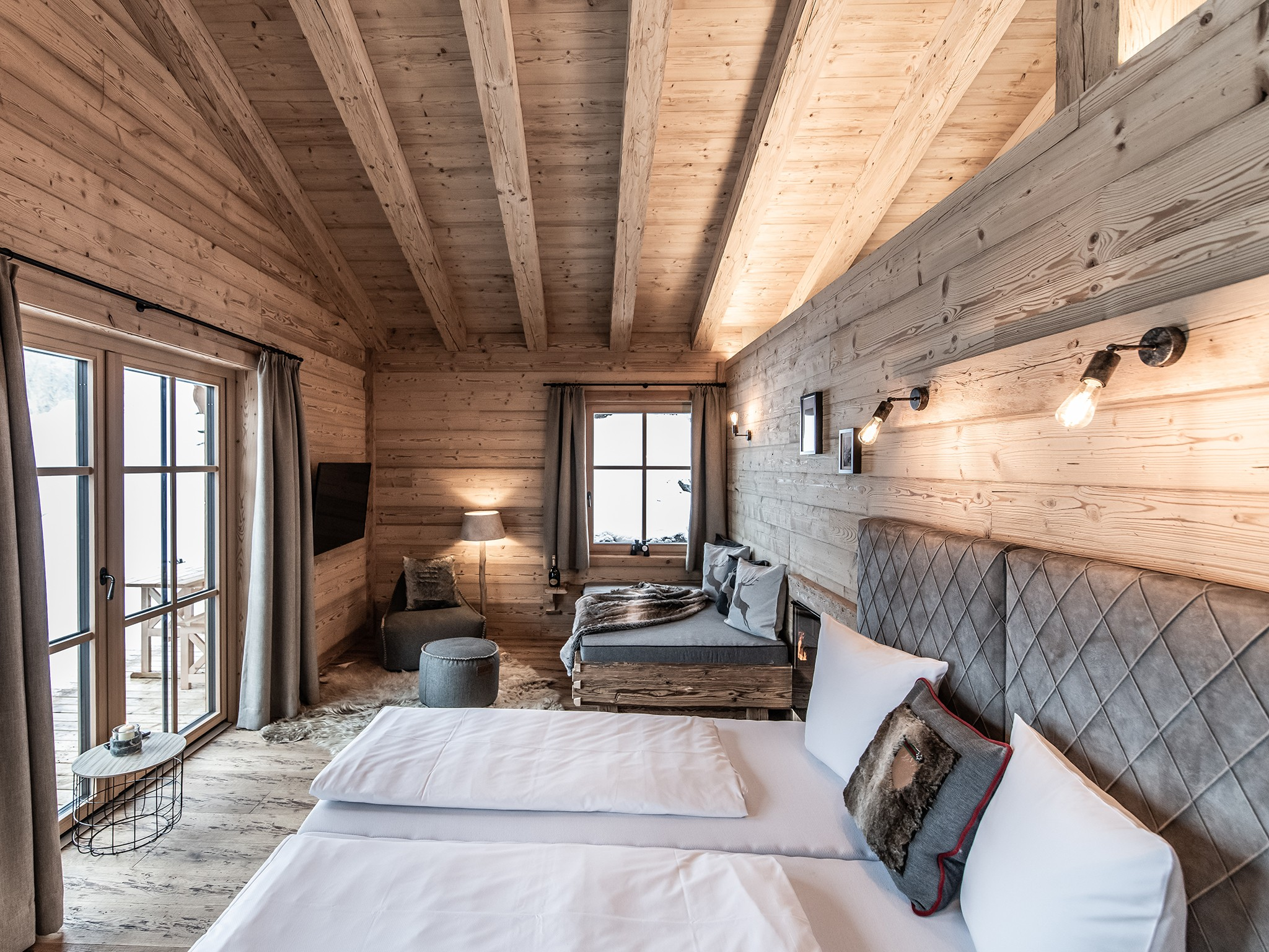 Lech-Chalet Kuschel - sleeping area