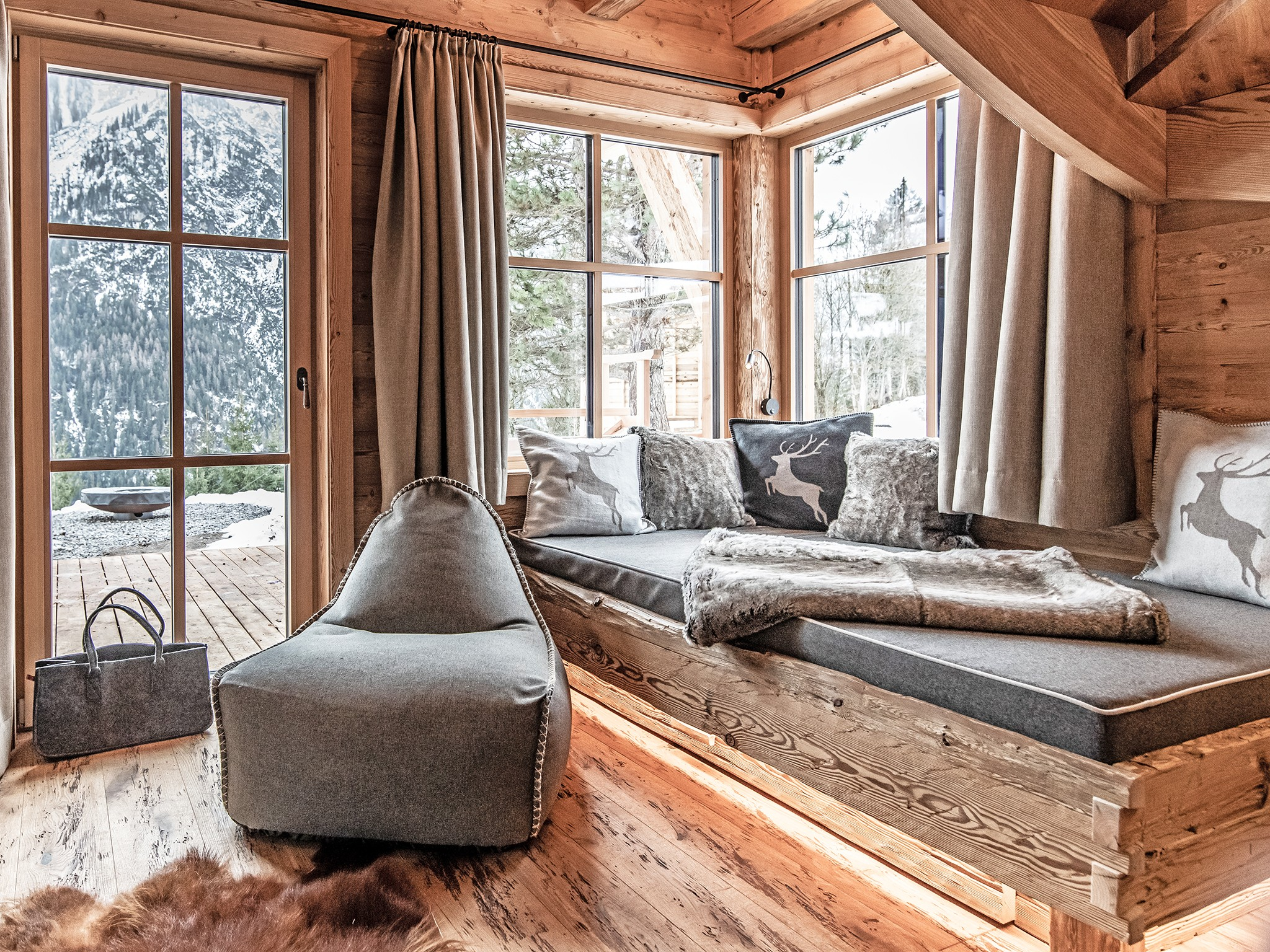 Lech-Chalet Berg - living room