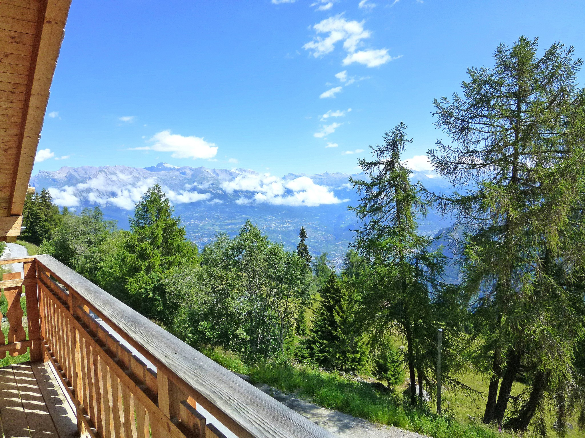 Chalet Dent Blanche - Panoramablick