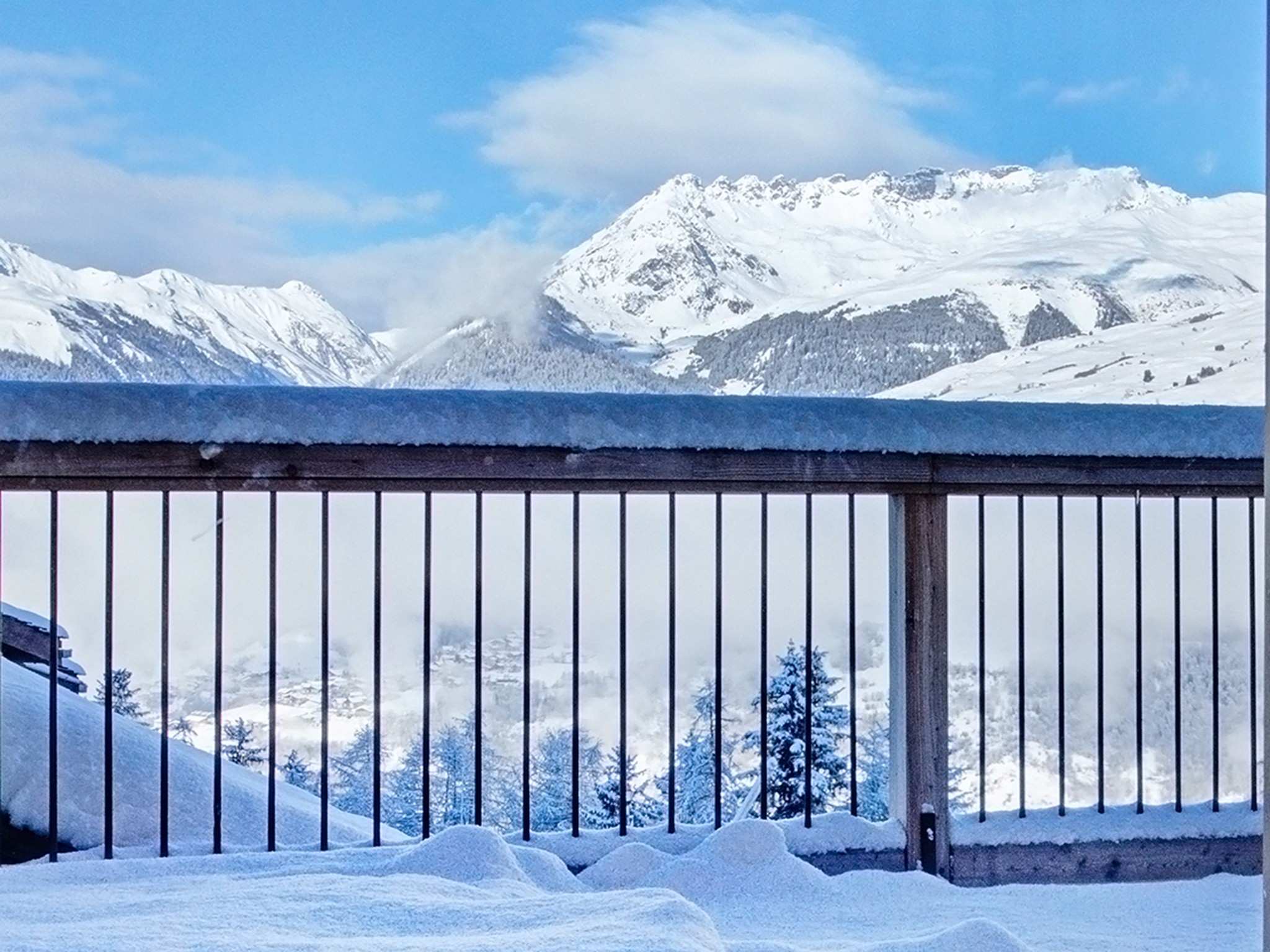 Chalet Pure Paradise - Panoramblick (Beispiel)