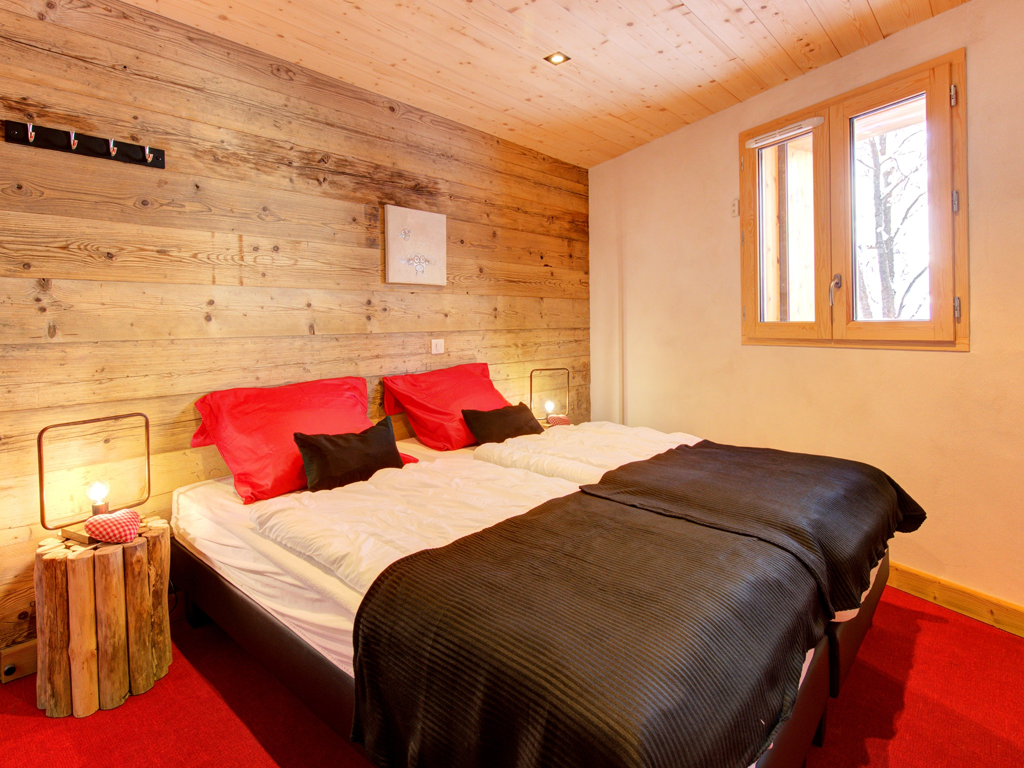 Chalet Pure Paradise - bedroom (example)
