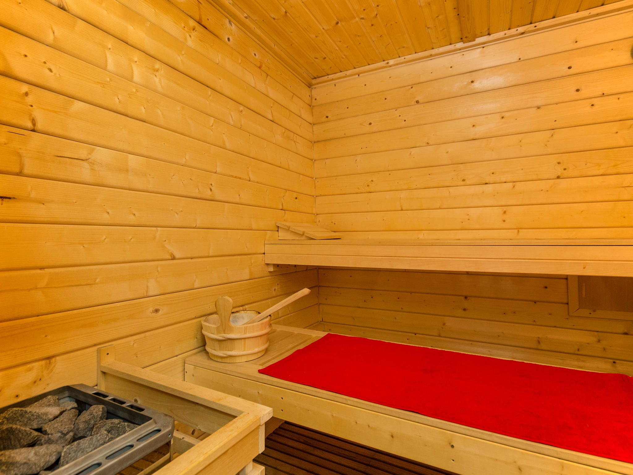Chalet Secret de Neige - sauna (exemple)