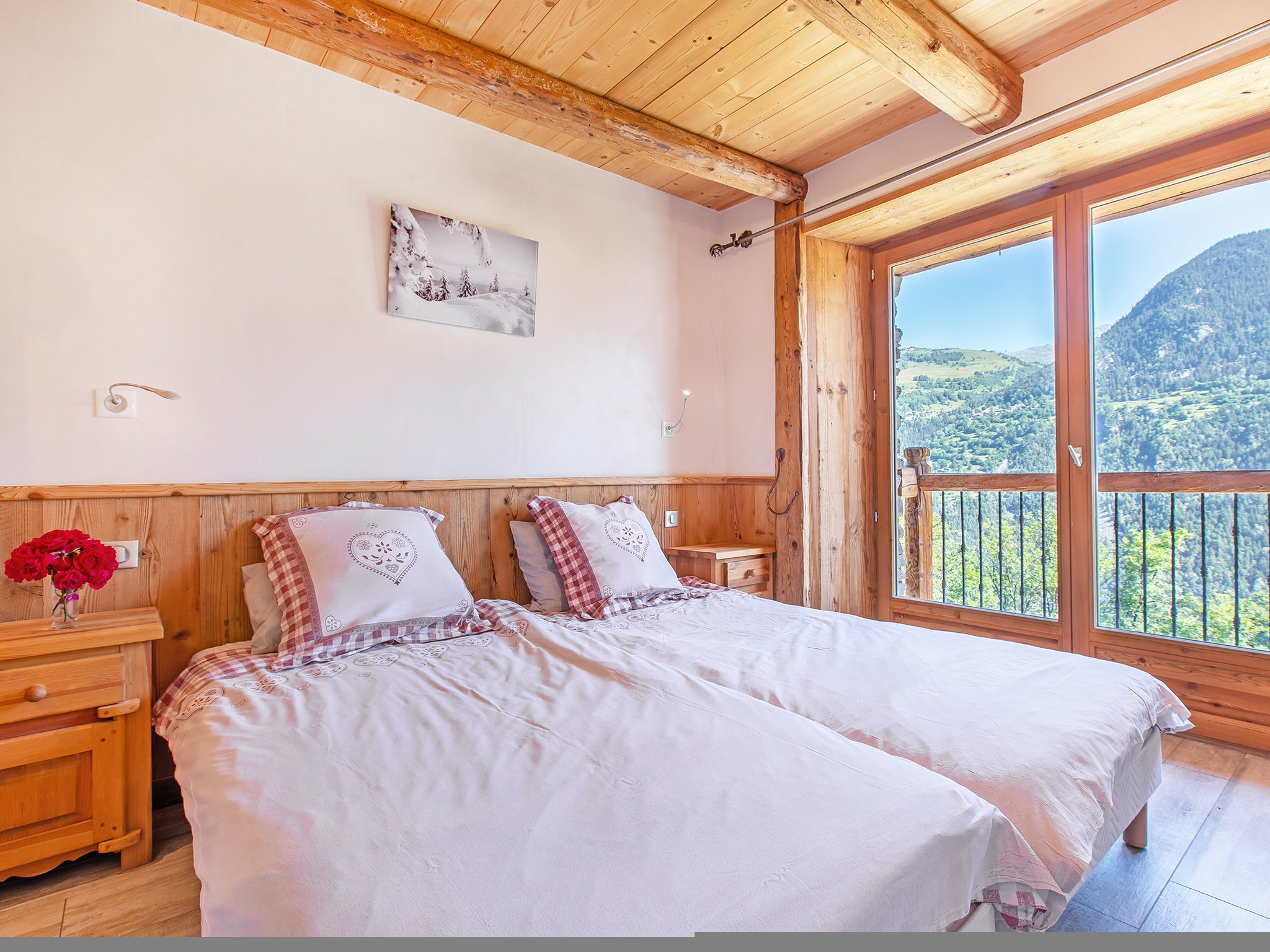 Chalet Farmhouse - chambre