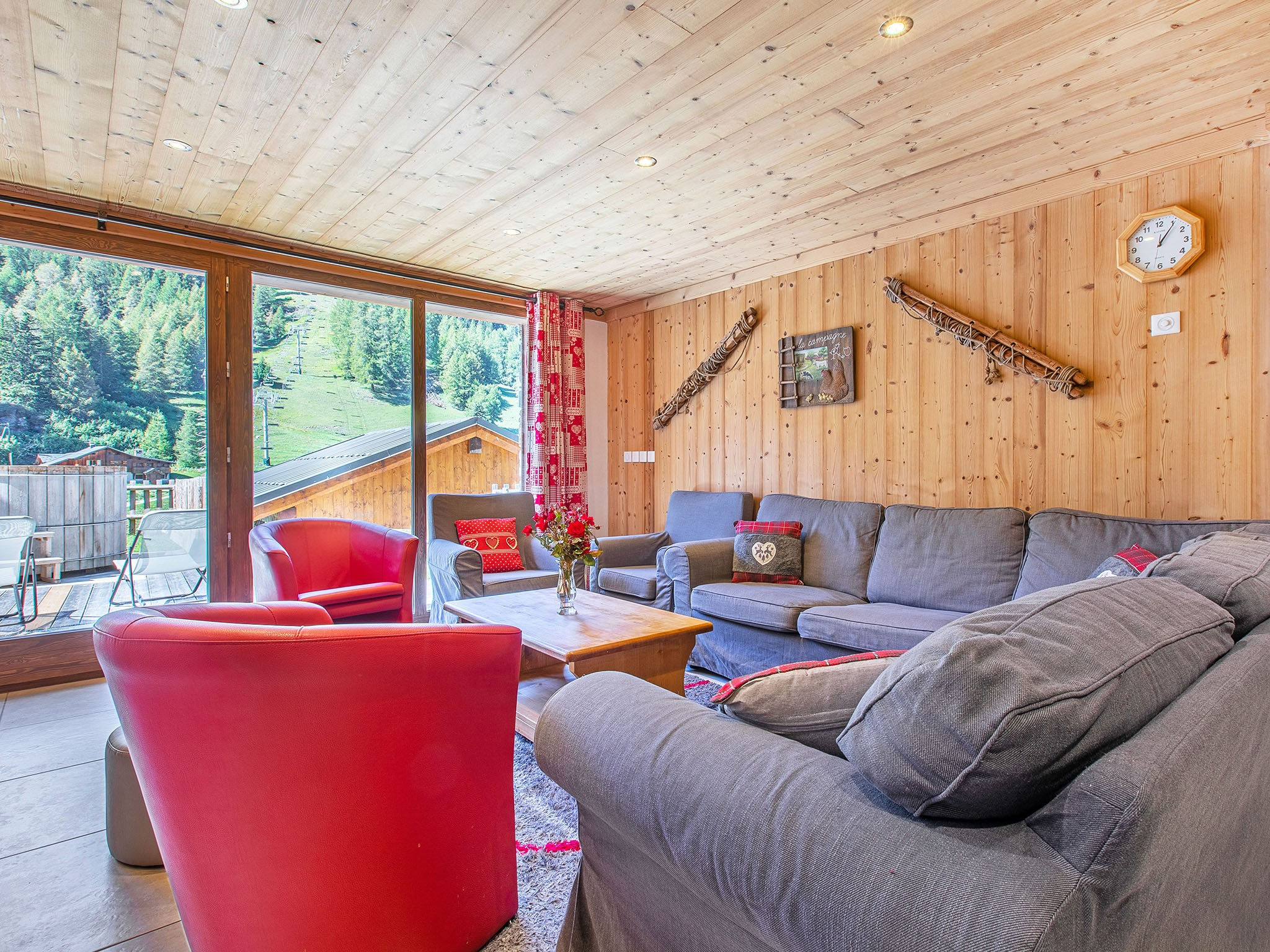 Chalet Epicea - living room