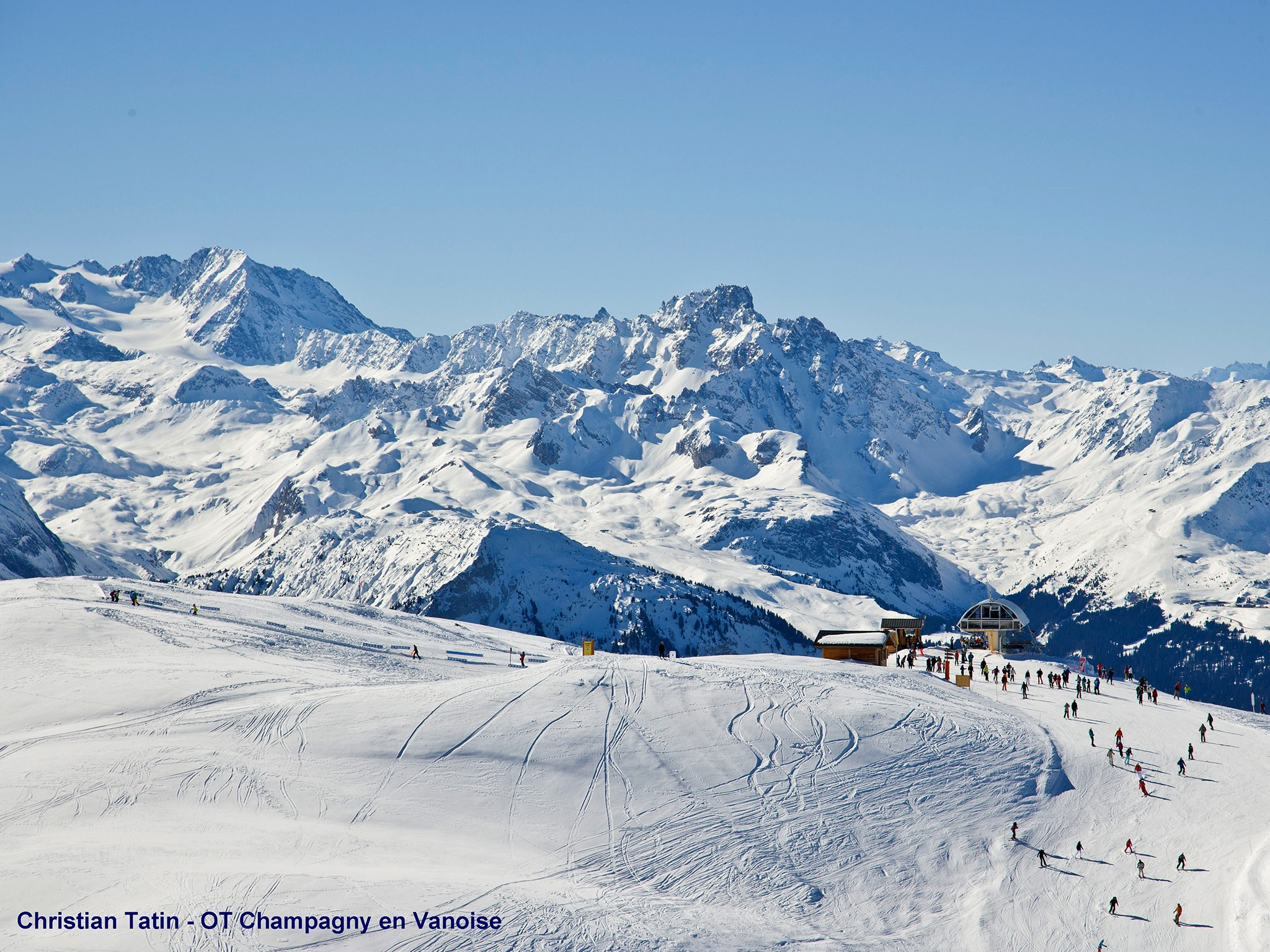 Chalet Joly - domaine skiable