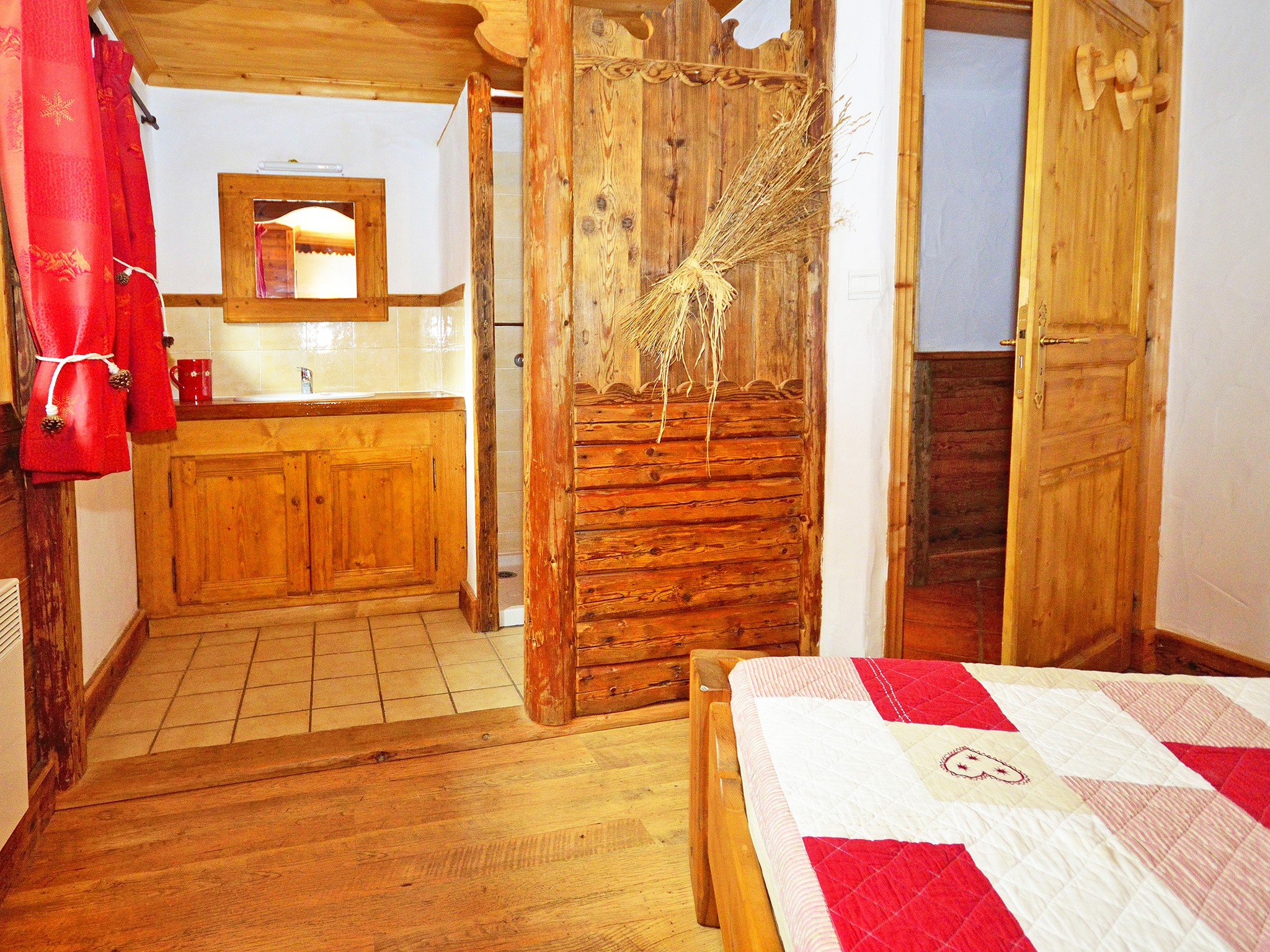 Chalet le Haut - Schlafzimmer