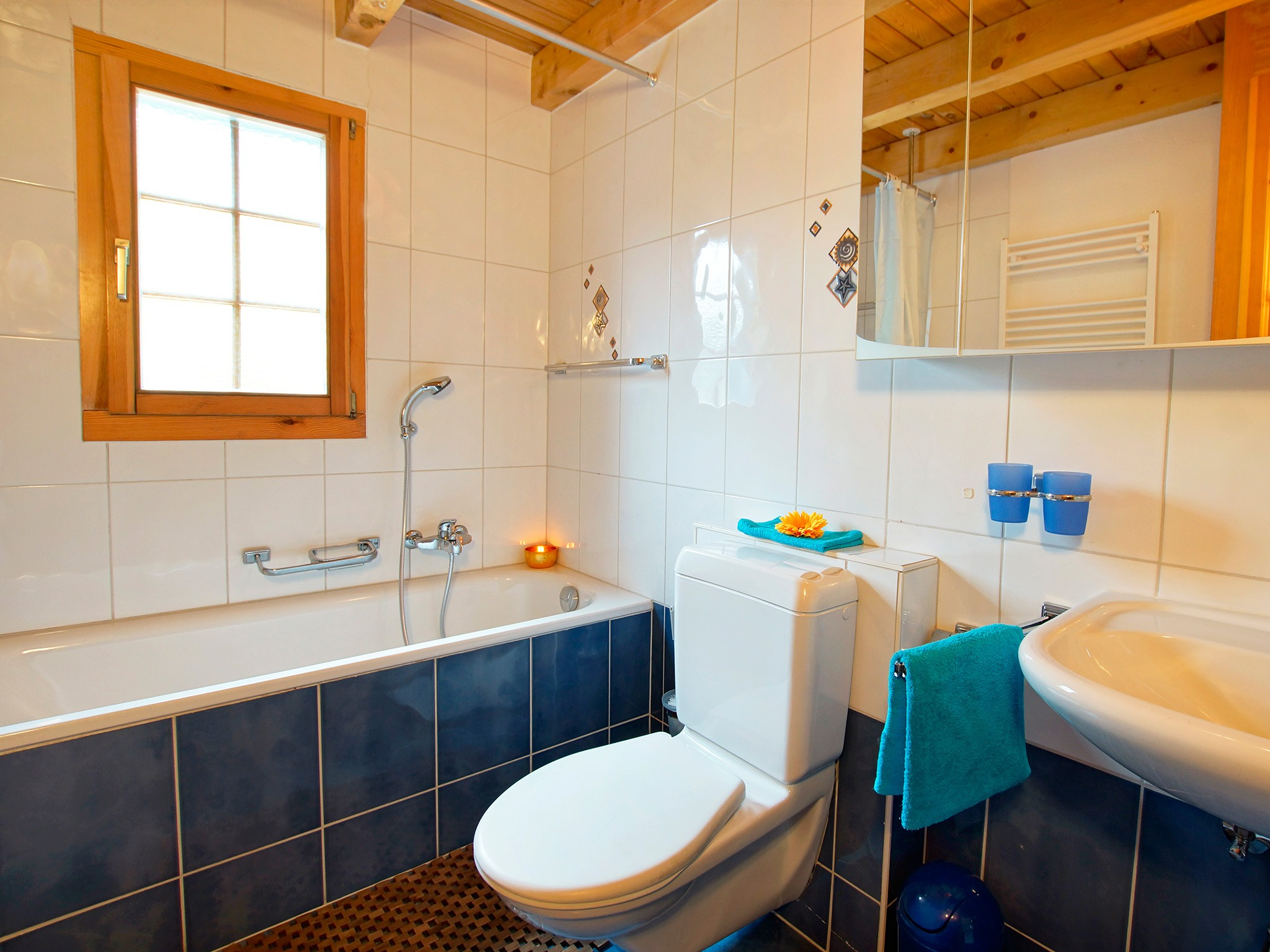 Chalet Alpina - bathroom