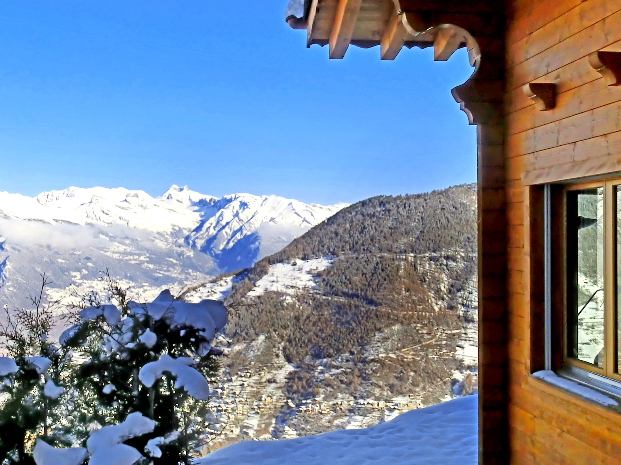 Chalet Alpina - panoramic view