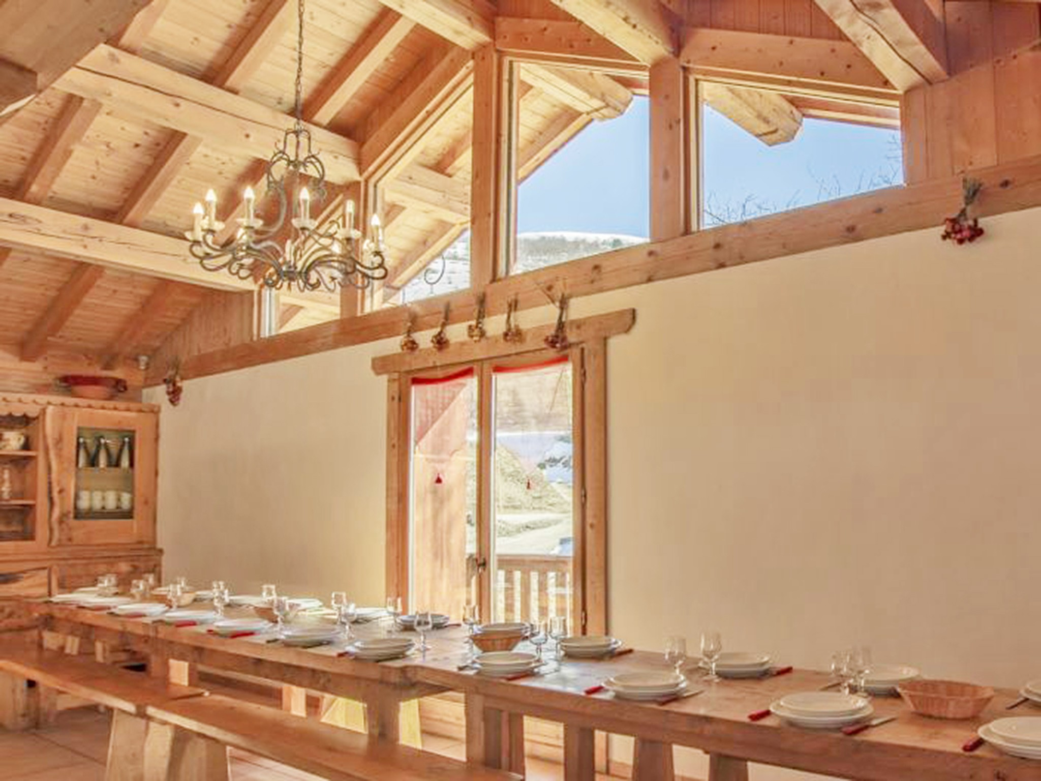 Chalet Gran Koute - dining area