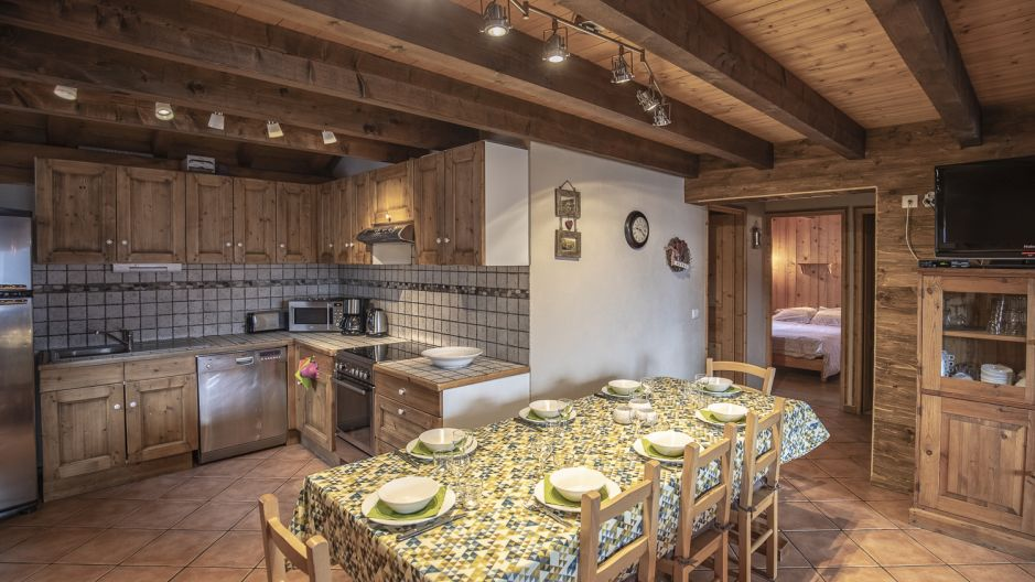 Chalet Mimosa - coin repas