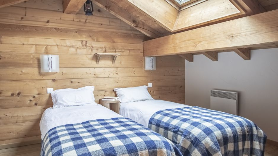 Chalet Mimosa - chambre