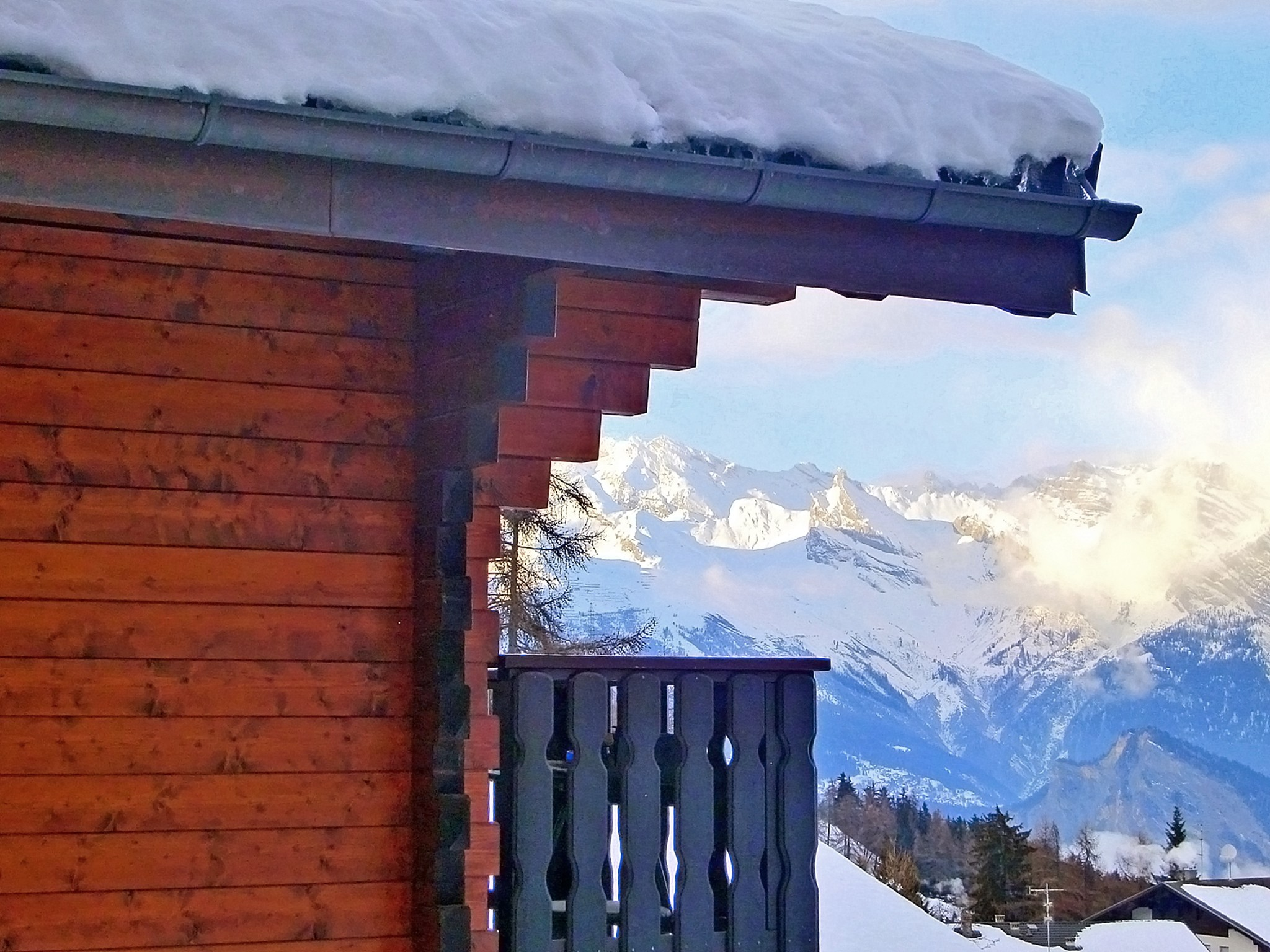Chalet Les Etoiles - Panoramablick
